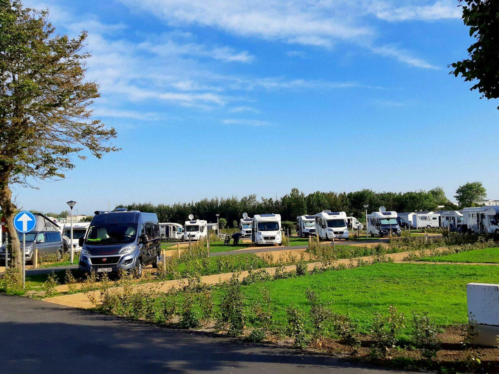 Camperplaats - 70m²