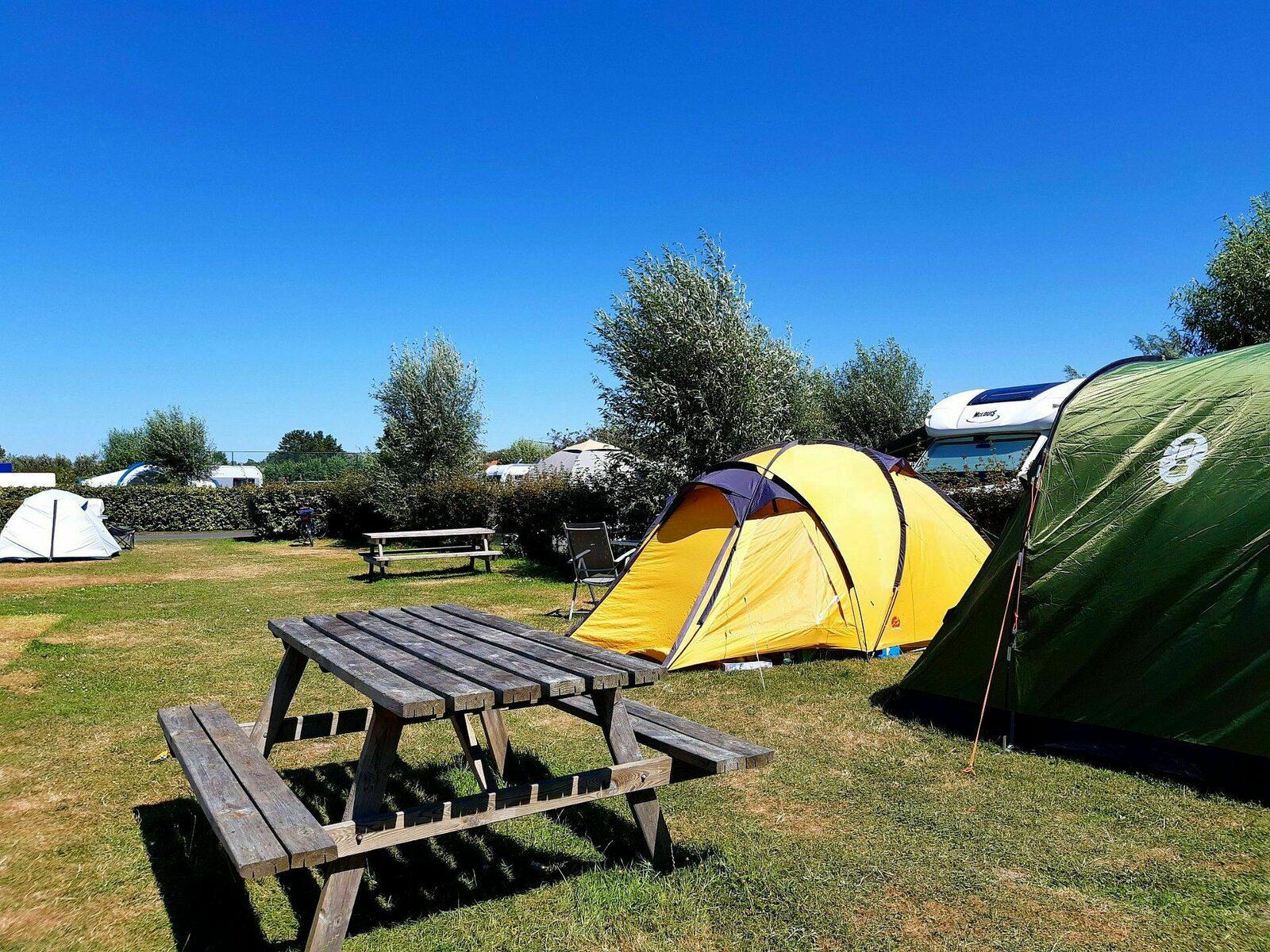 Tent meadow