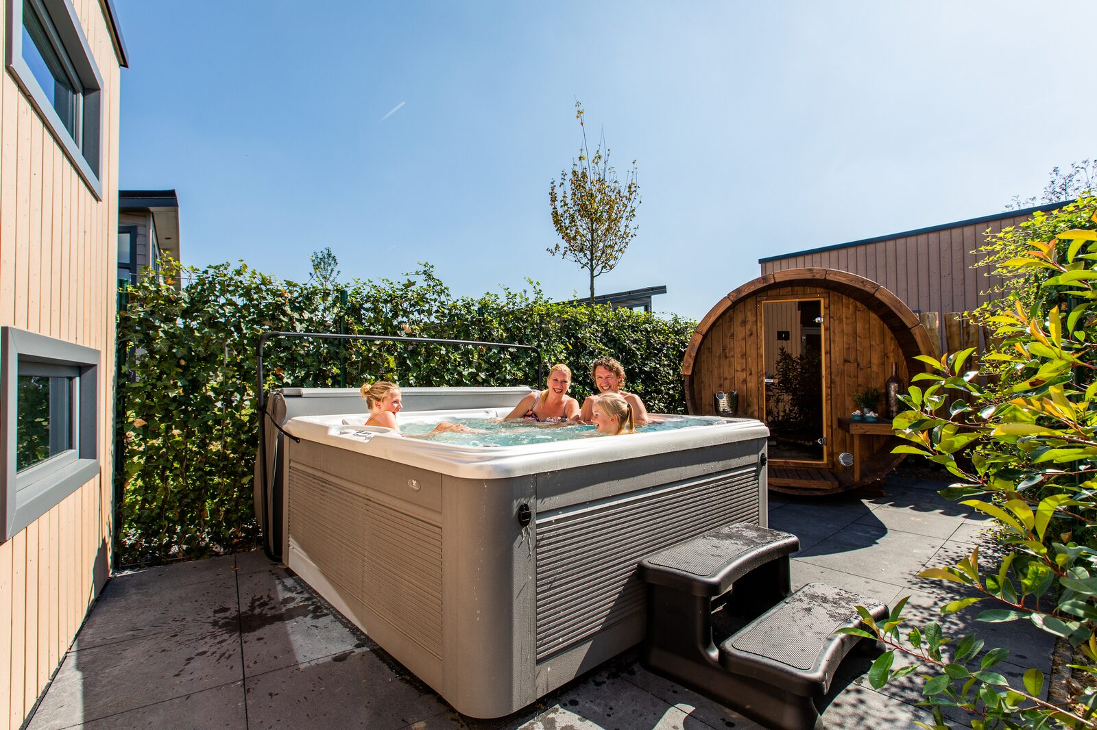 Villa Superieur 7 personen Wellness