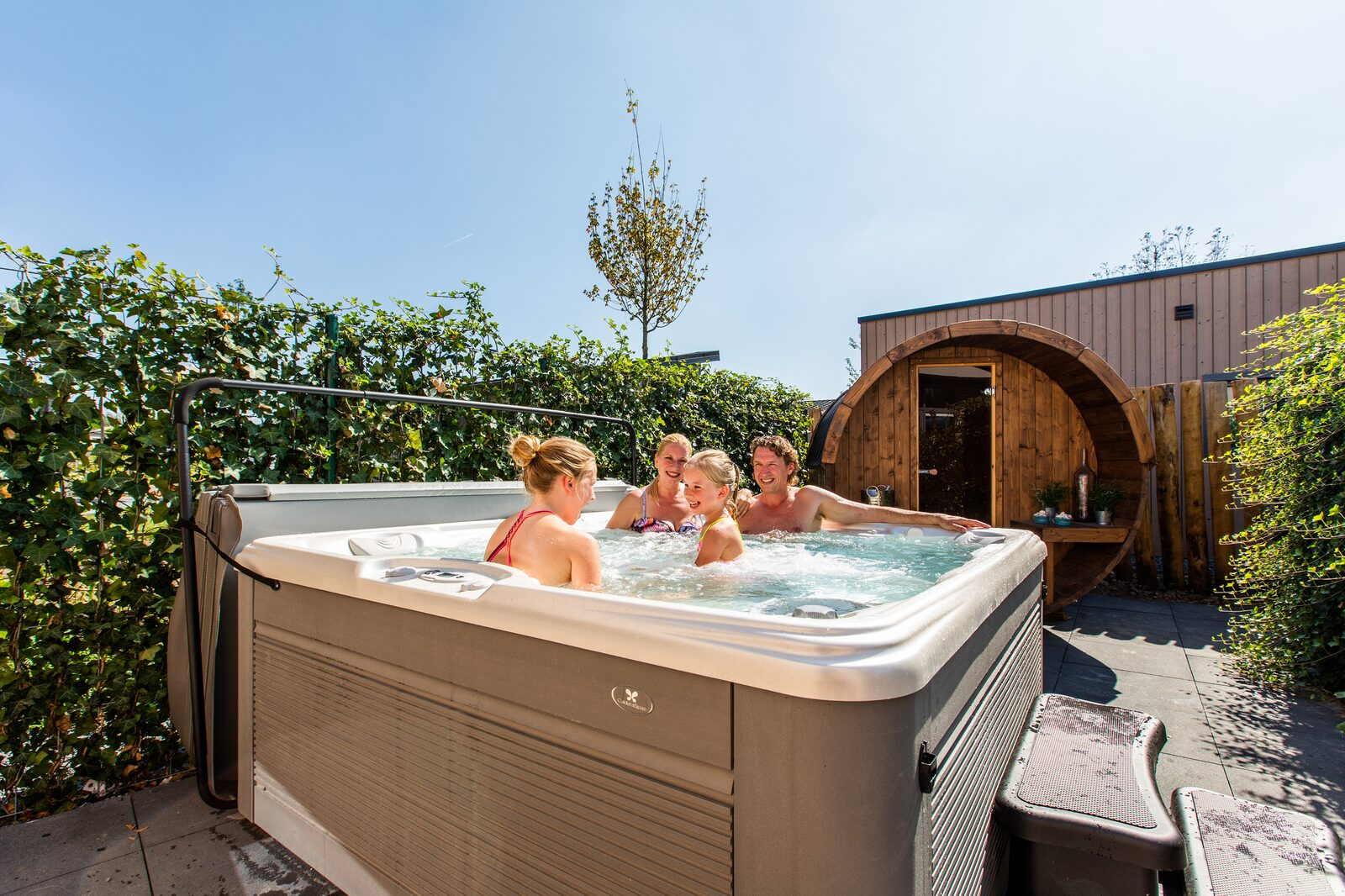 Villa Superieur 6 personen Wellness