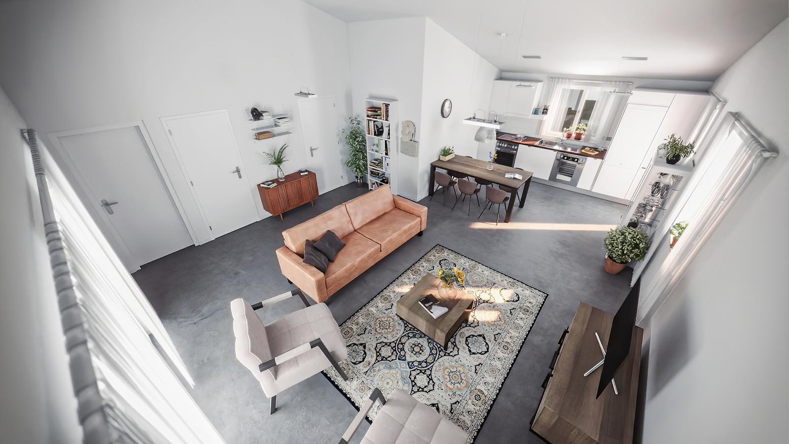 3-room villa accommodating 4/6 people