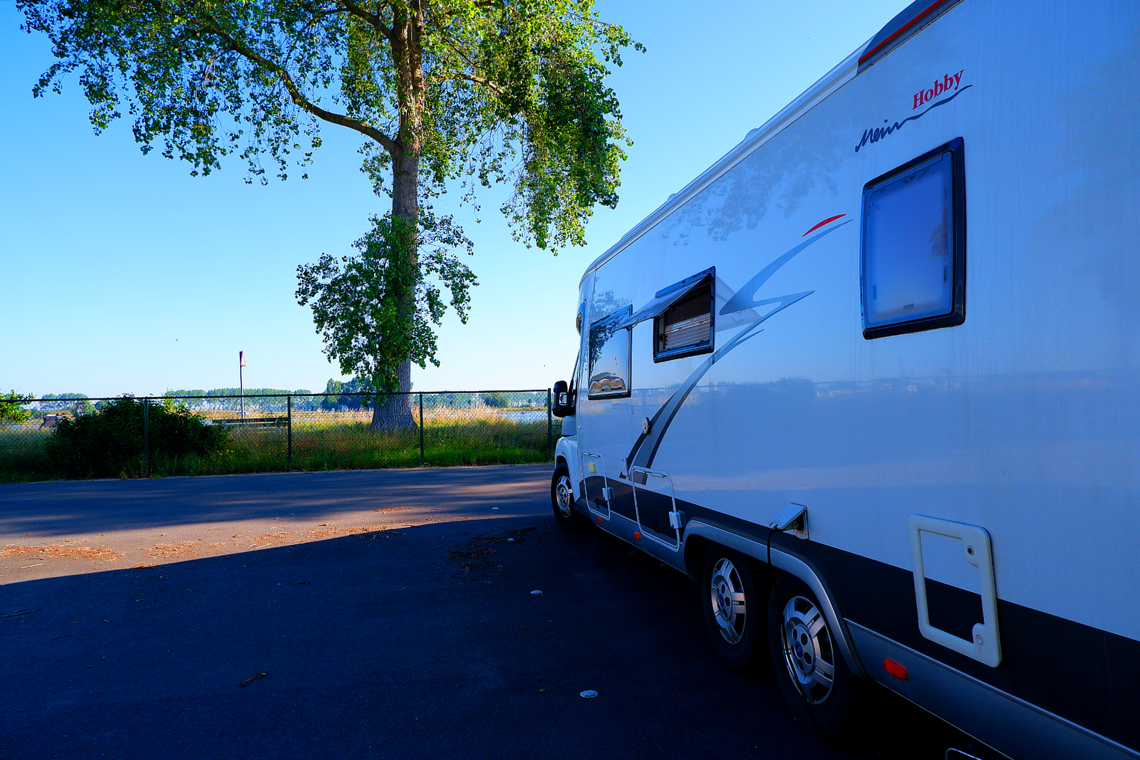 Motorhome Pitch IJzer - 60 m²