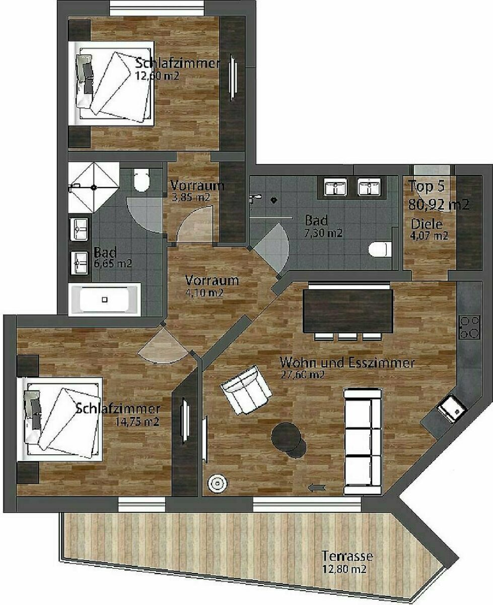 Apartment Residenz South | 4-6 Pers.