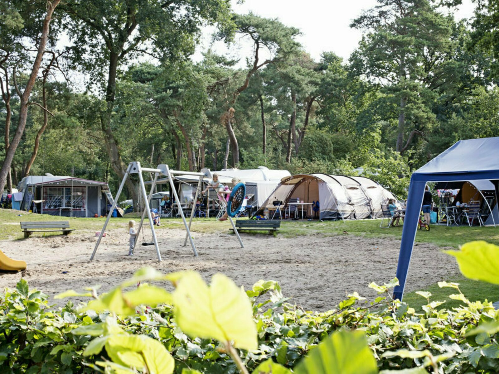 Comfort Camping pitch Private Sanitary