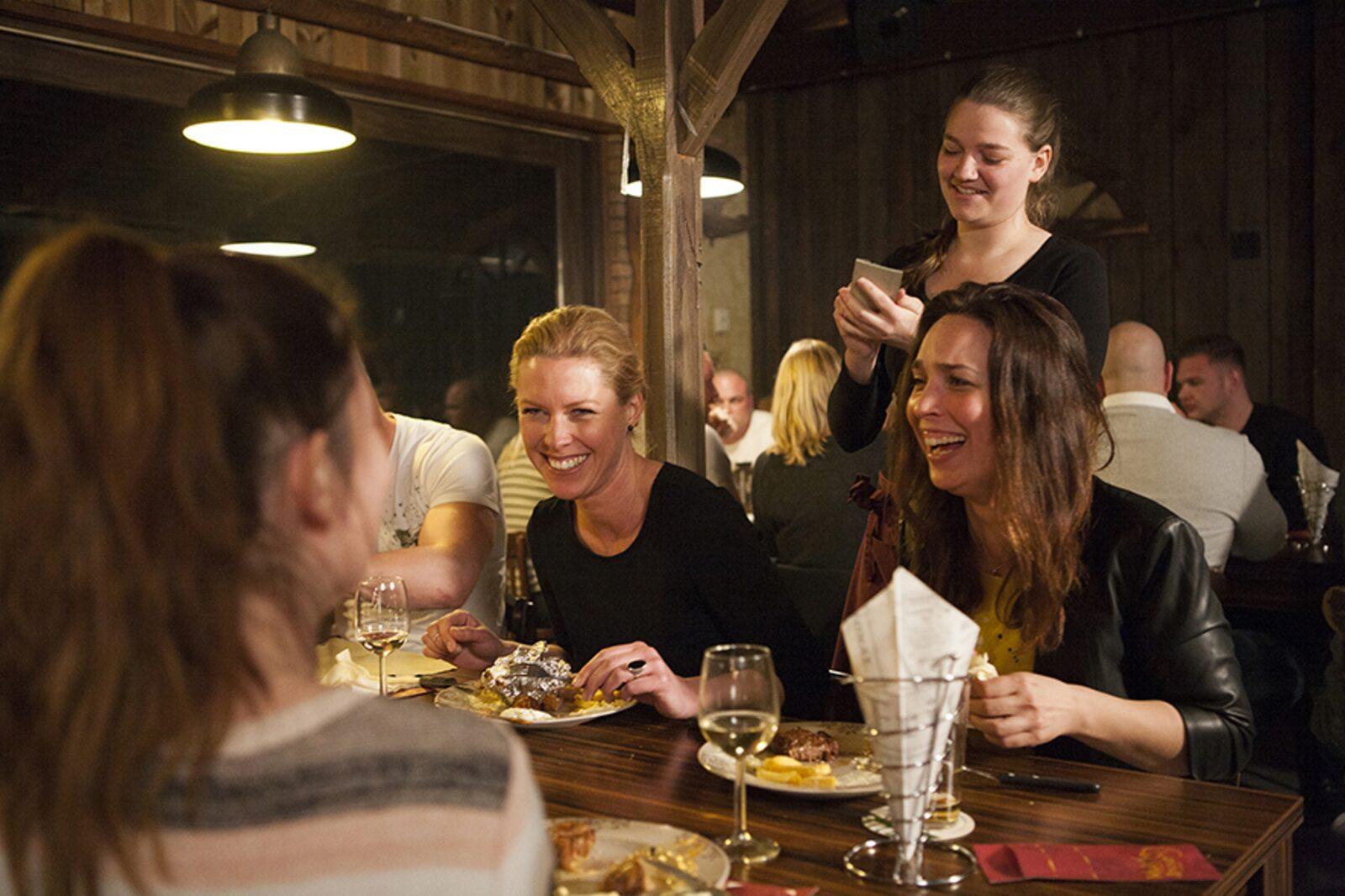 Veluwe-Lodge für 4 Personen mit privater Sauna