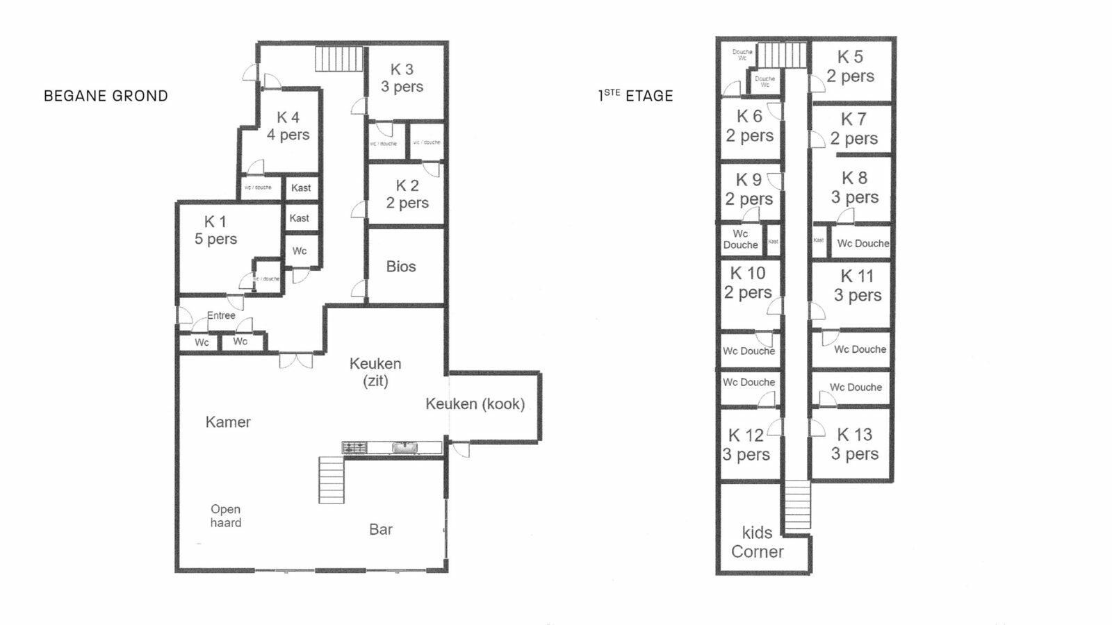 Group accommodation Veulen