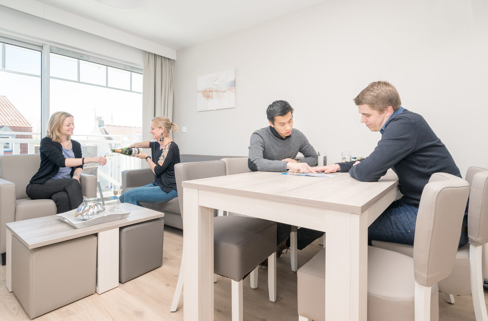Studio pour 4 personnes avec canapé-lit