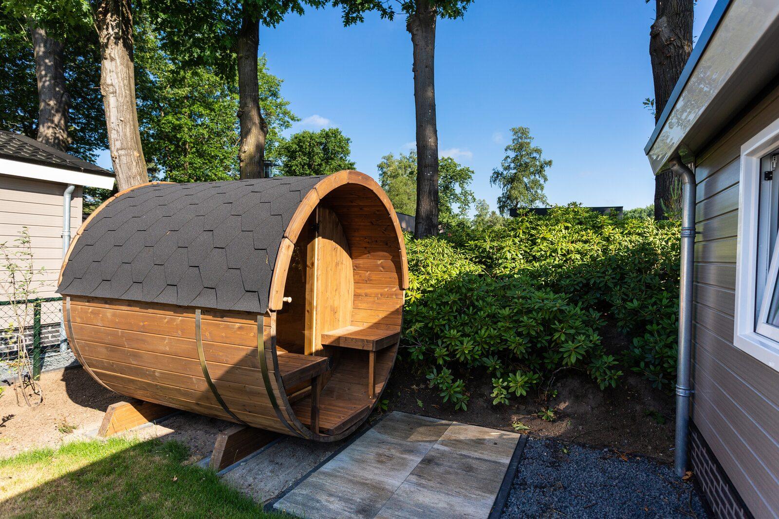 Comfort 5 personen Sauna