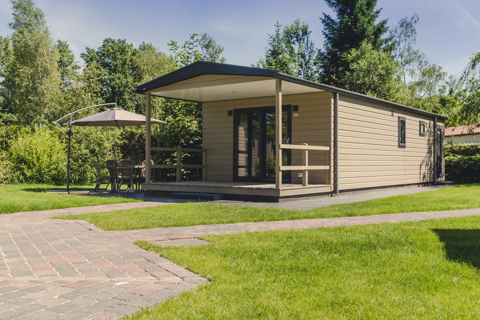 Groepsaccommodatie [6x bungalette 5p met veranda]
