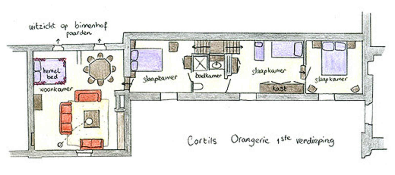 Chateau Cortils - Orangerie