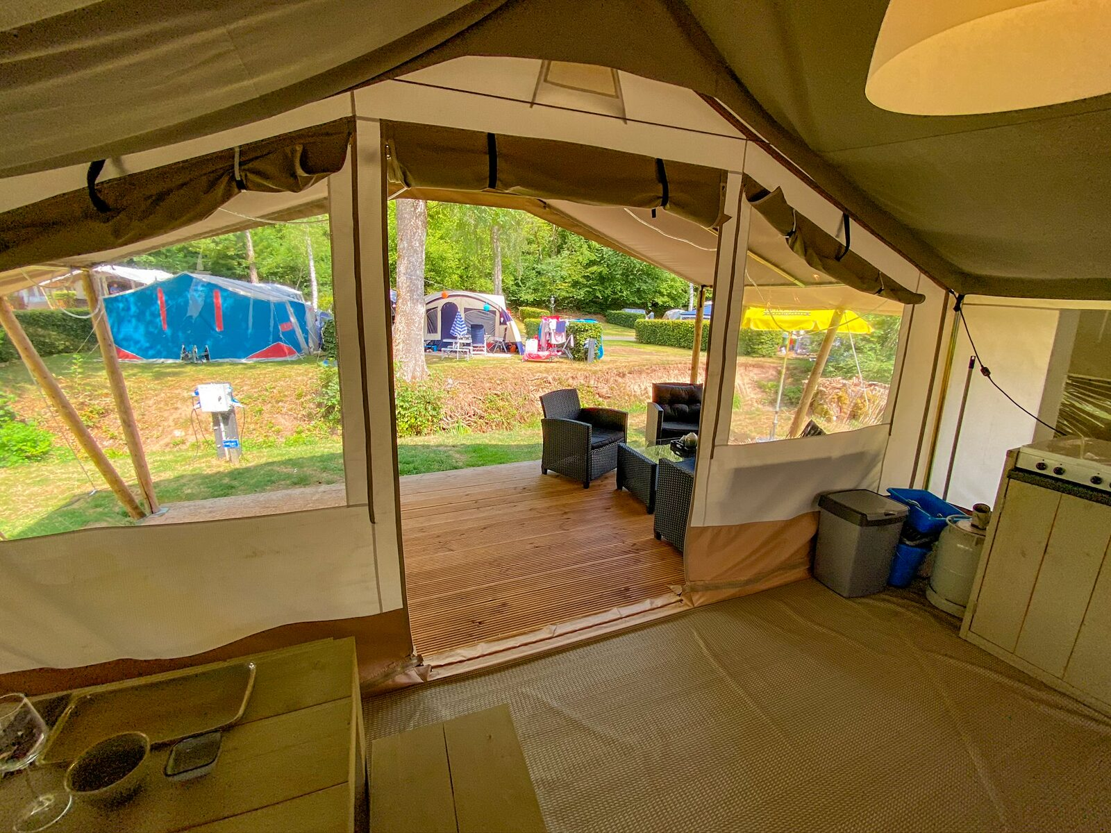 Lodge tent Eifel