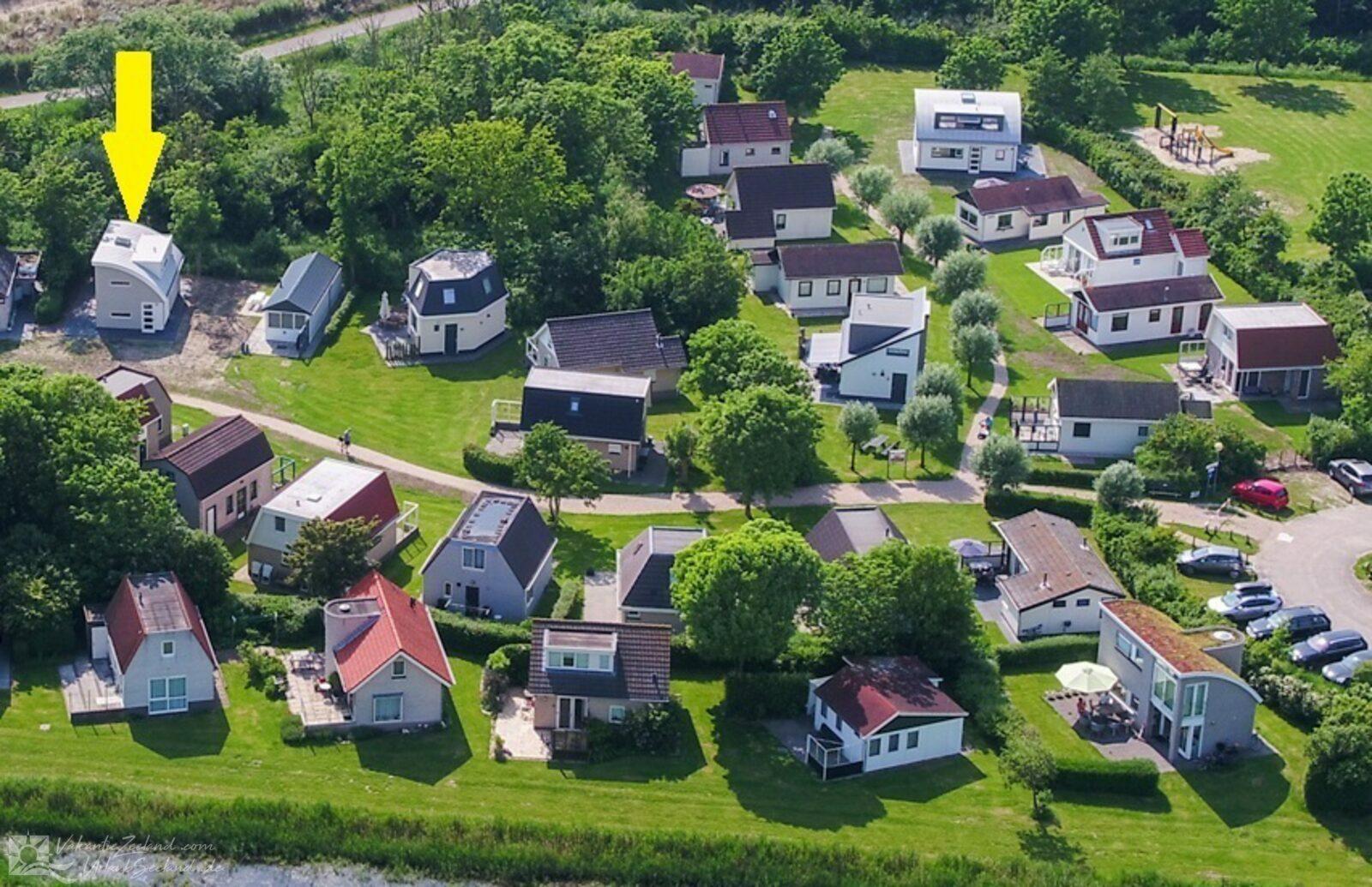VZ905 Vrijstaand vakantiehuis in Vlissingen