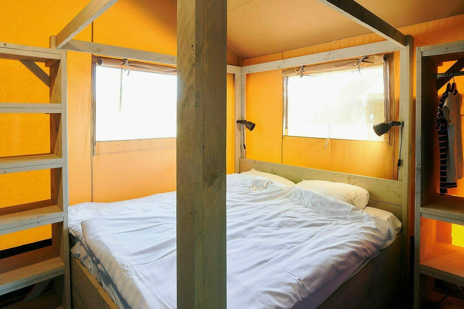 Parque de vacaciones Sallandshoeve | Sanitario de lujo XL + 6 Pers.