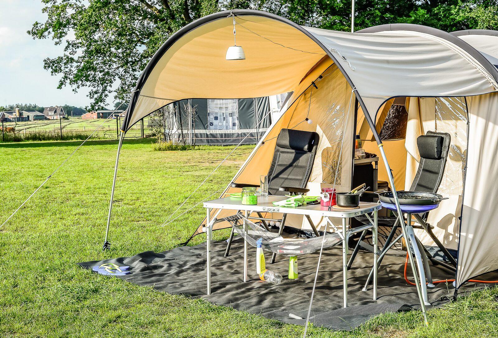 1 week kamperen tijdens de Reggestreek Wandel4daagse van 18 juni tot 25 juni 2022