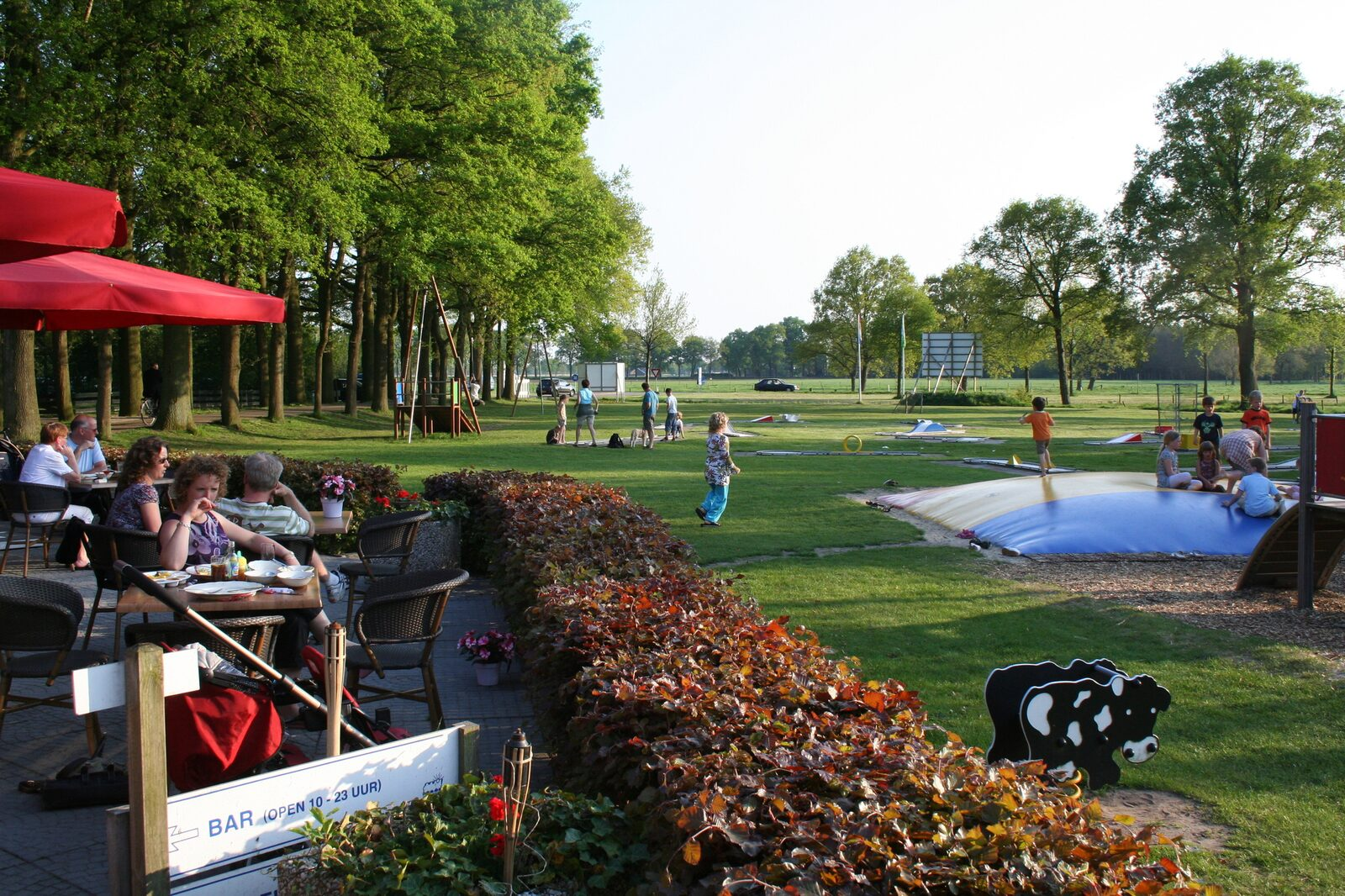 Vakantiepark Sallandshoeve | Villatent XL met sanitair | 4 tot 6 pers.