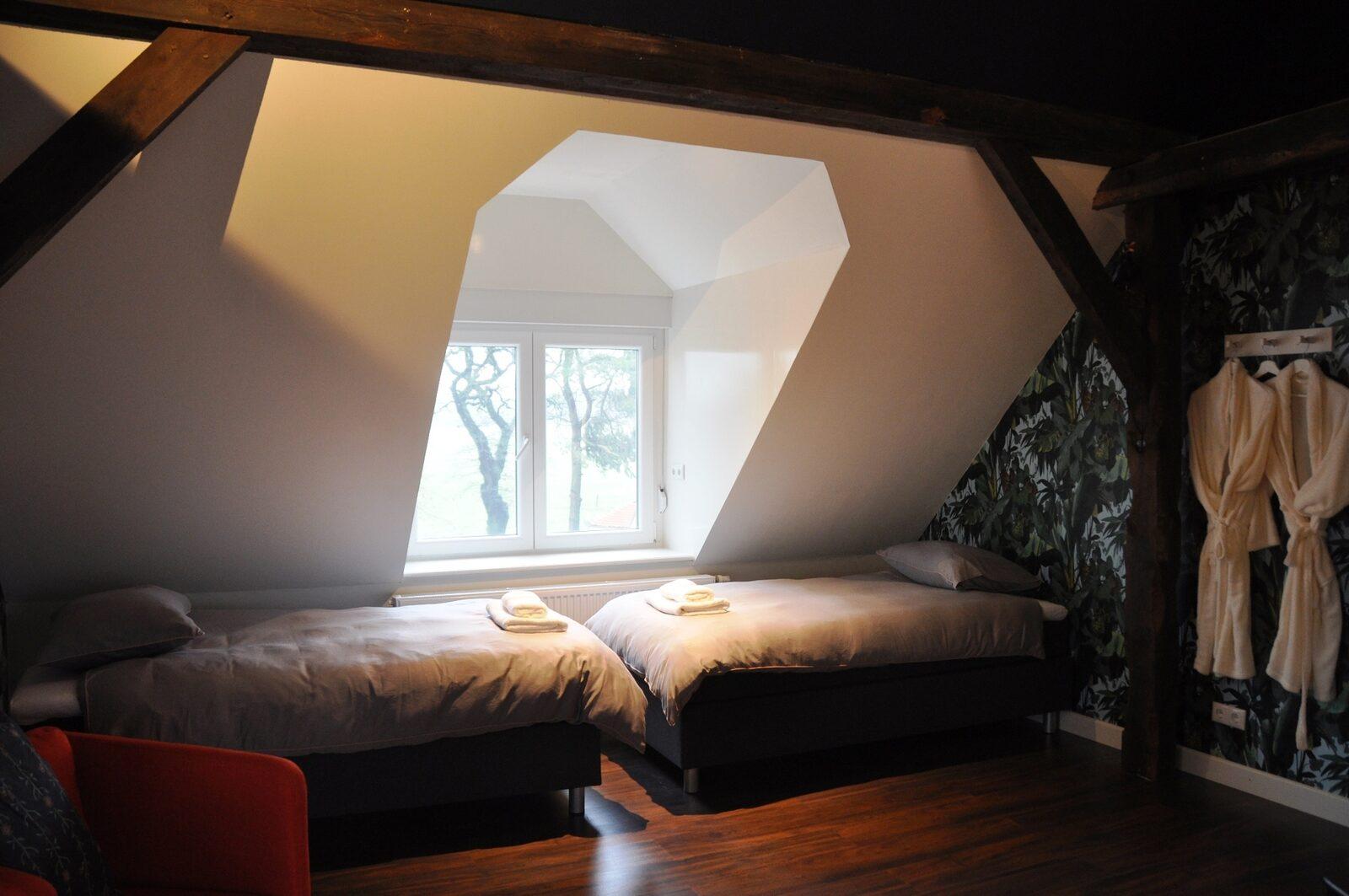 Landhuis Wielen XXL wellness vakantiehuis met sauna en jacuzzi