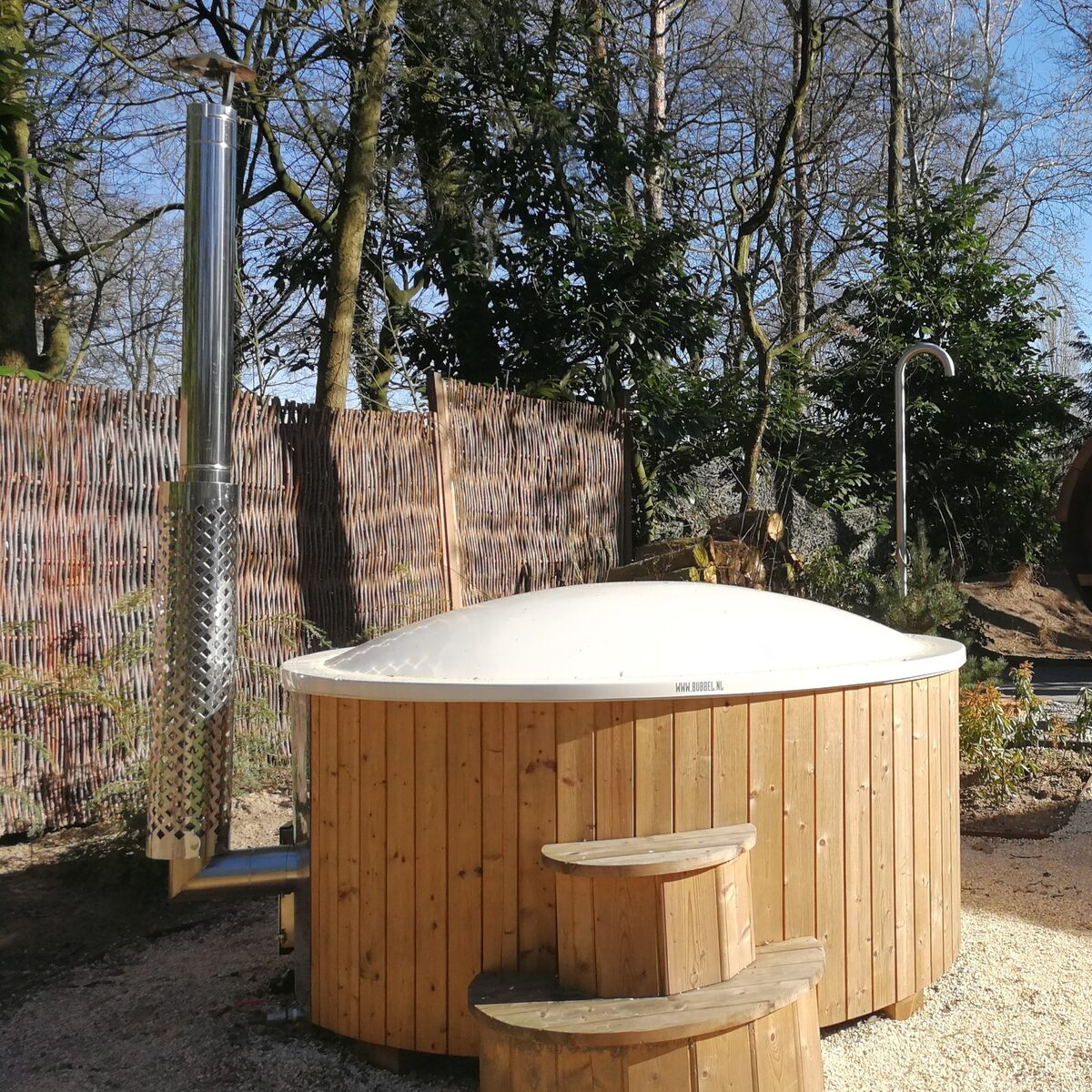 Bos Lodge 55 Eco 4 pers. (Hottub)