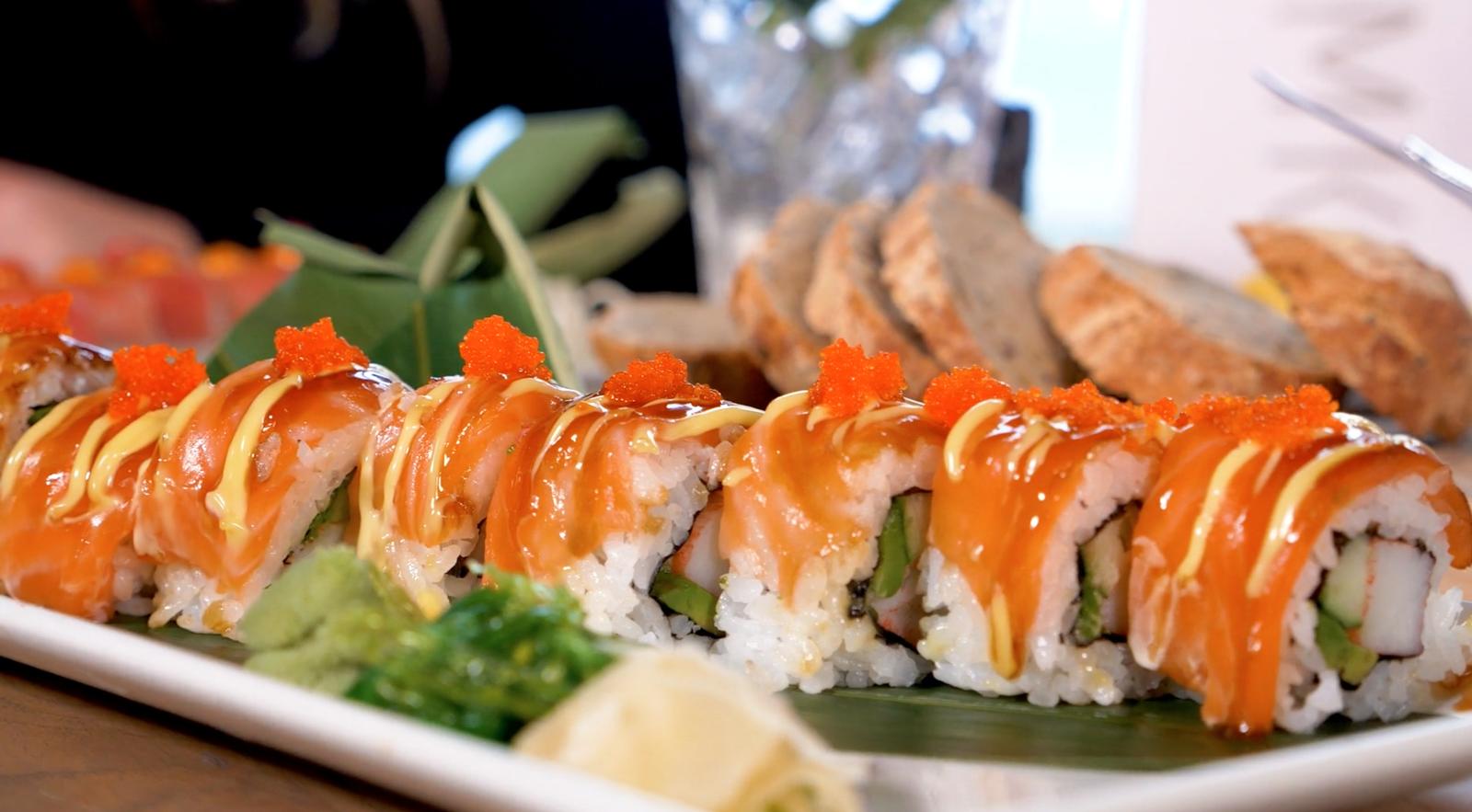 Sushi Variatie Schaal | 4 Pers.
