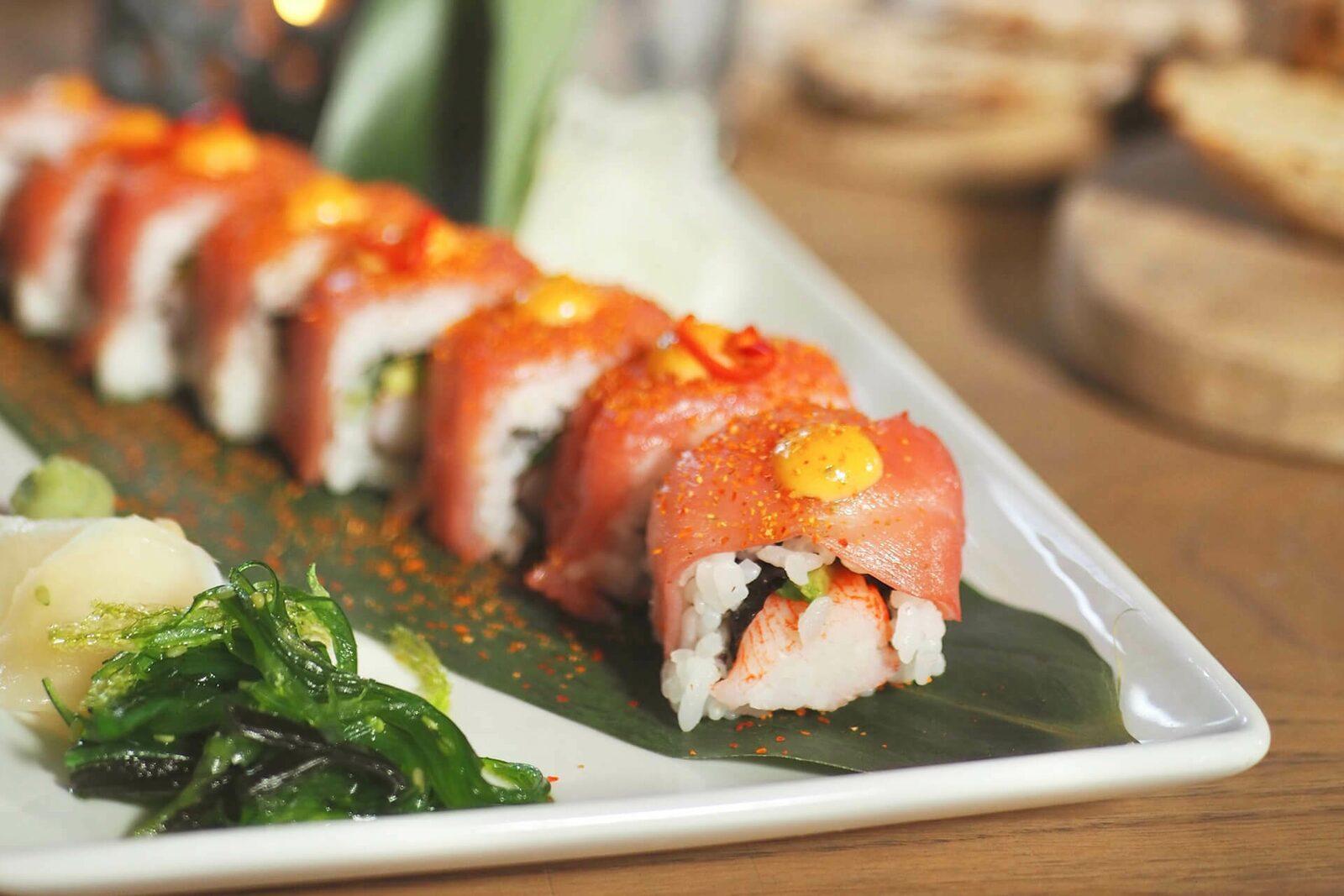 Sushi Variatie Schaal | 6 Pers.