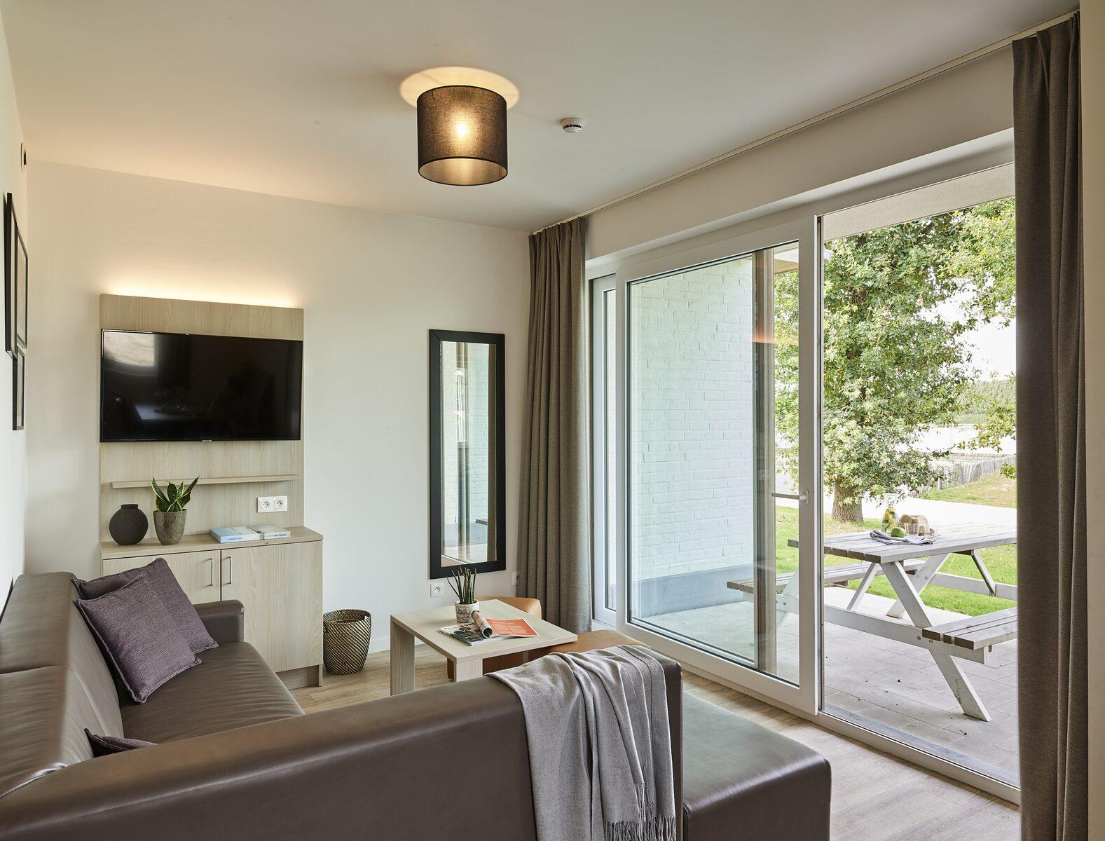 Comfort Suite - 4p | Chambre à coucher - Canapé-lit