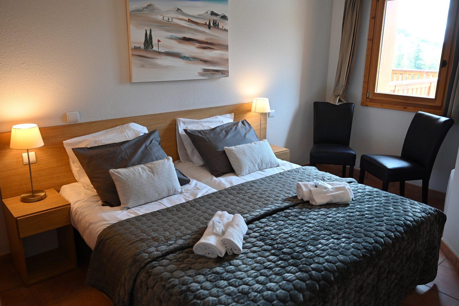 Zwei-Zimmer-Apartment und Zwischengeschoss für sechs Personen
