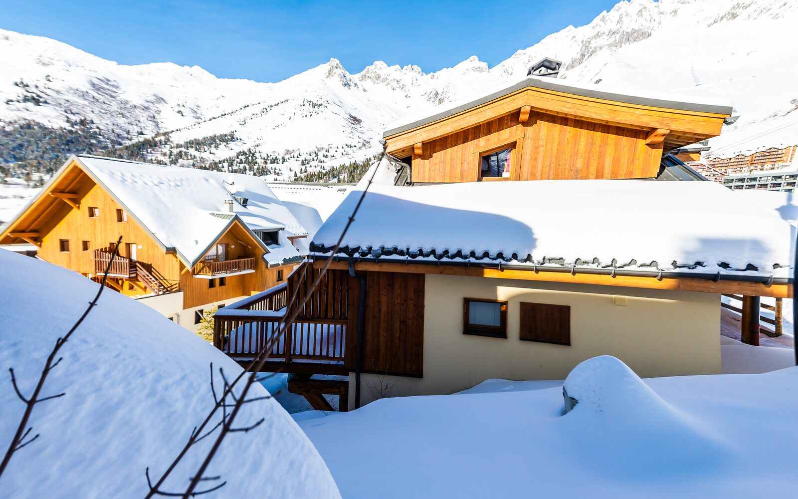Four-room chalet for six persons