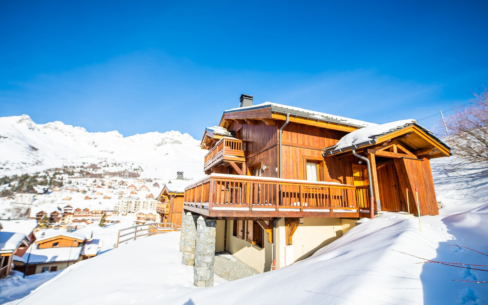 6-room chalet for 10 persons