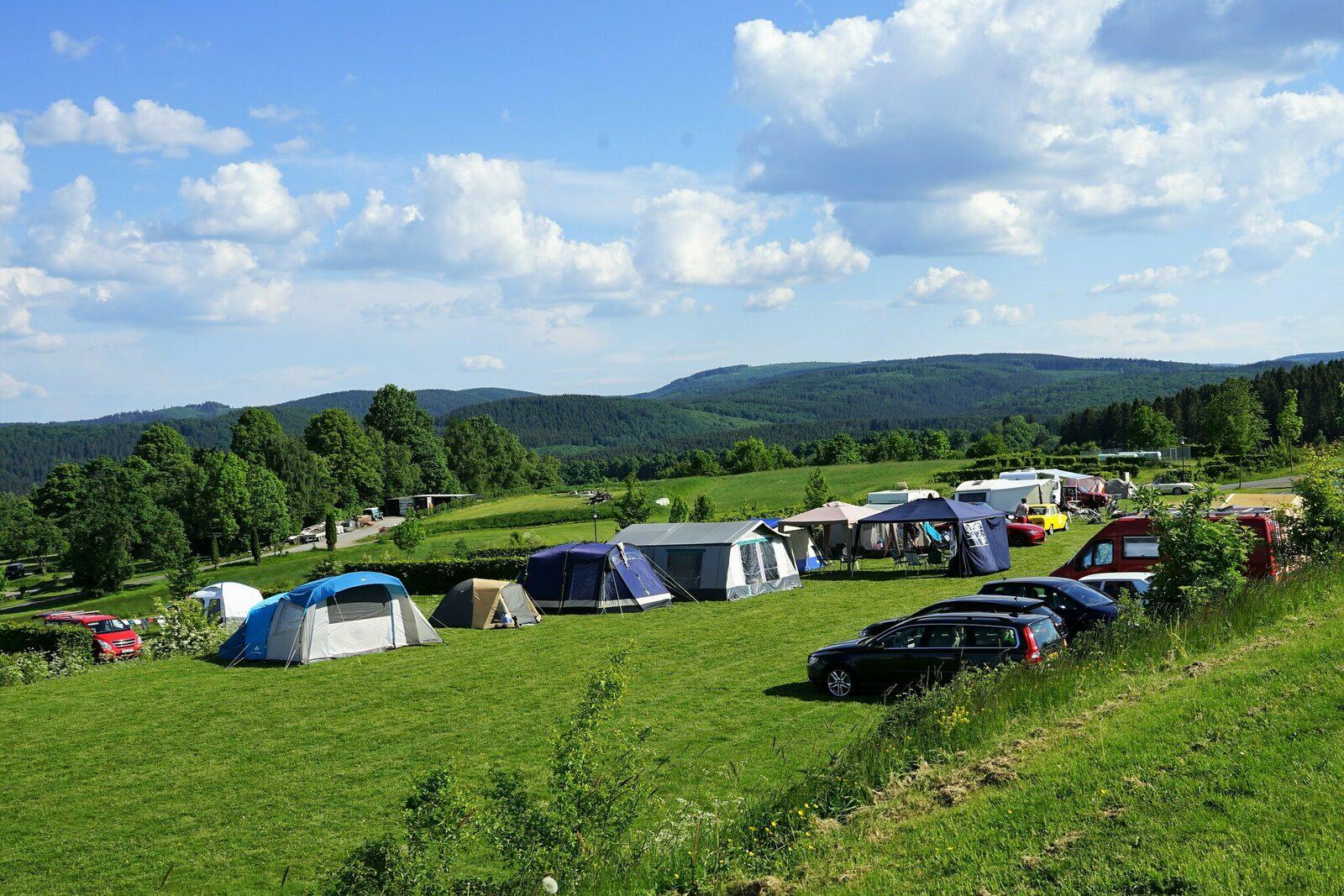 Categorie A - Natuurplaats tent/vouwwagen