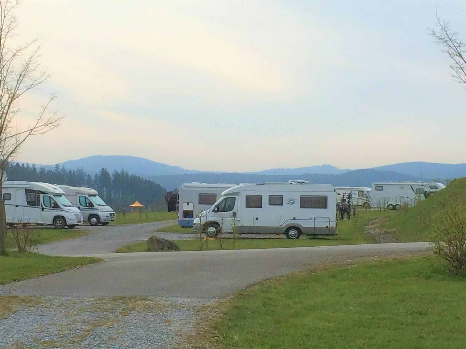 Kategorie B - Komfortplatz Camper