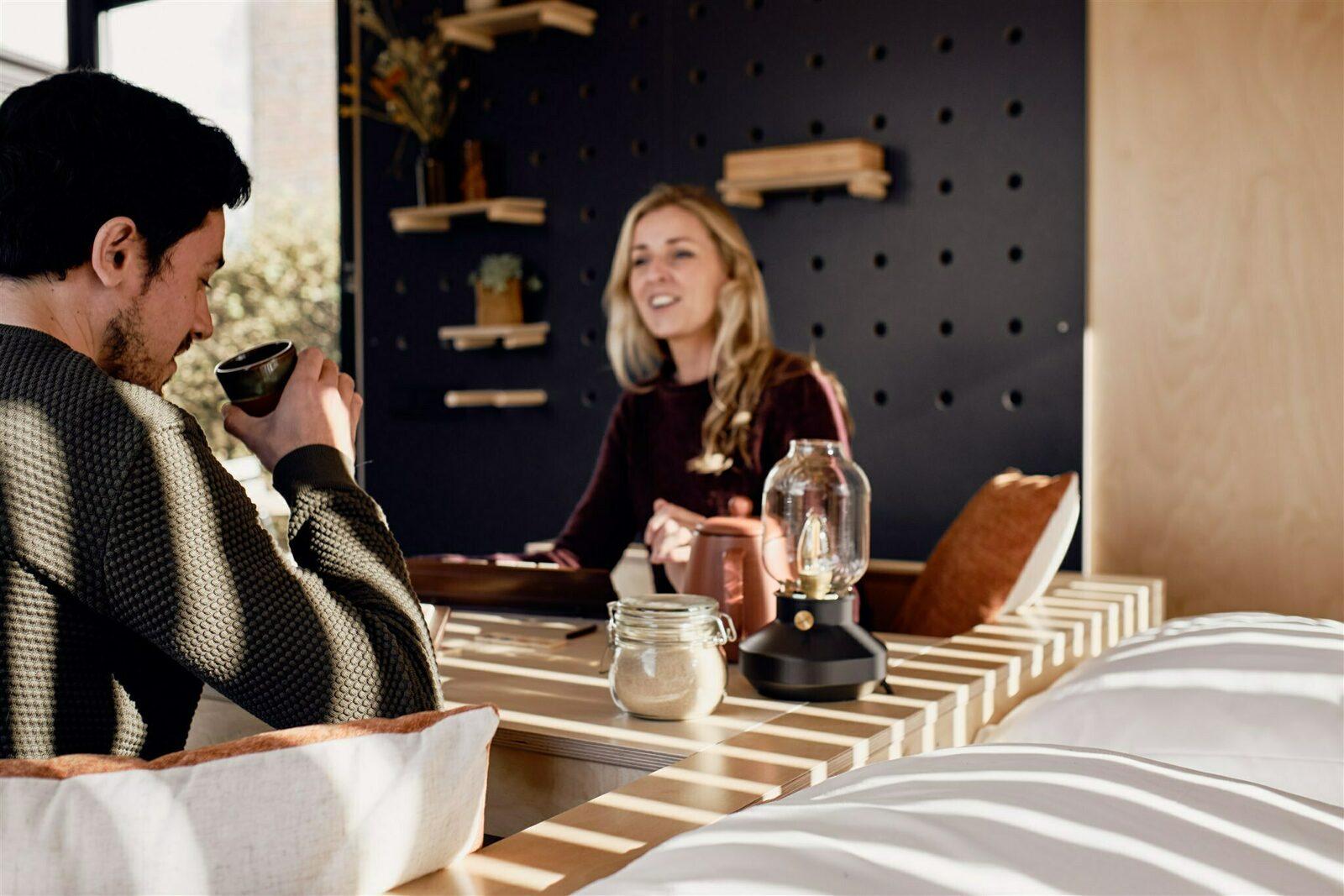 VrijHavenhuisje | BuitenThuis 'all-in' arrangement