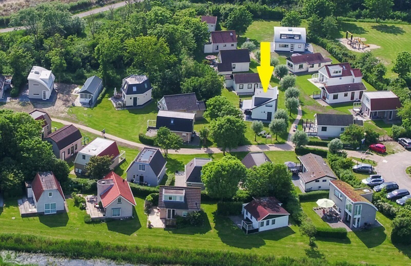 VZ950 Vrijstaand vakantiehuis in Vlissingen
