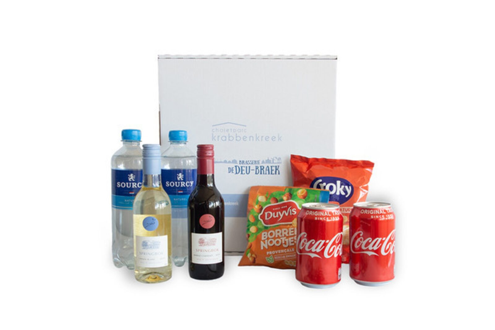 Minibar package with wine