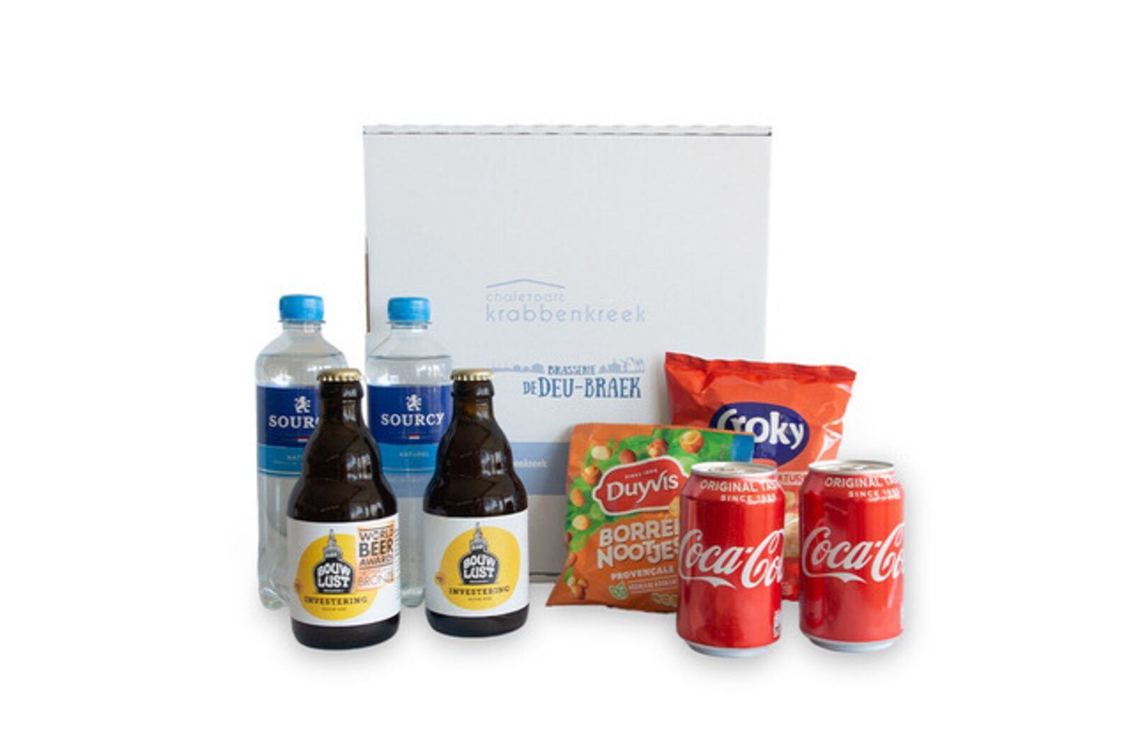 Minibar package with beer