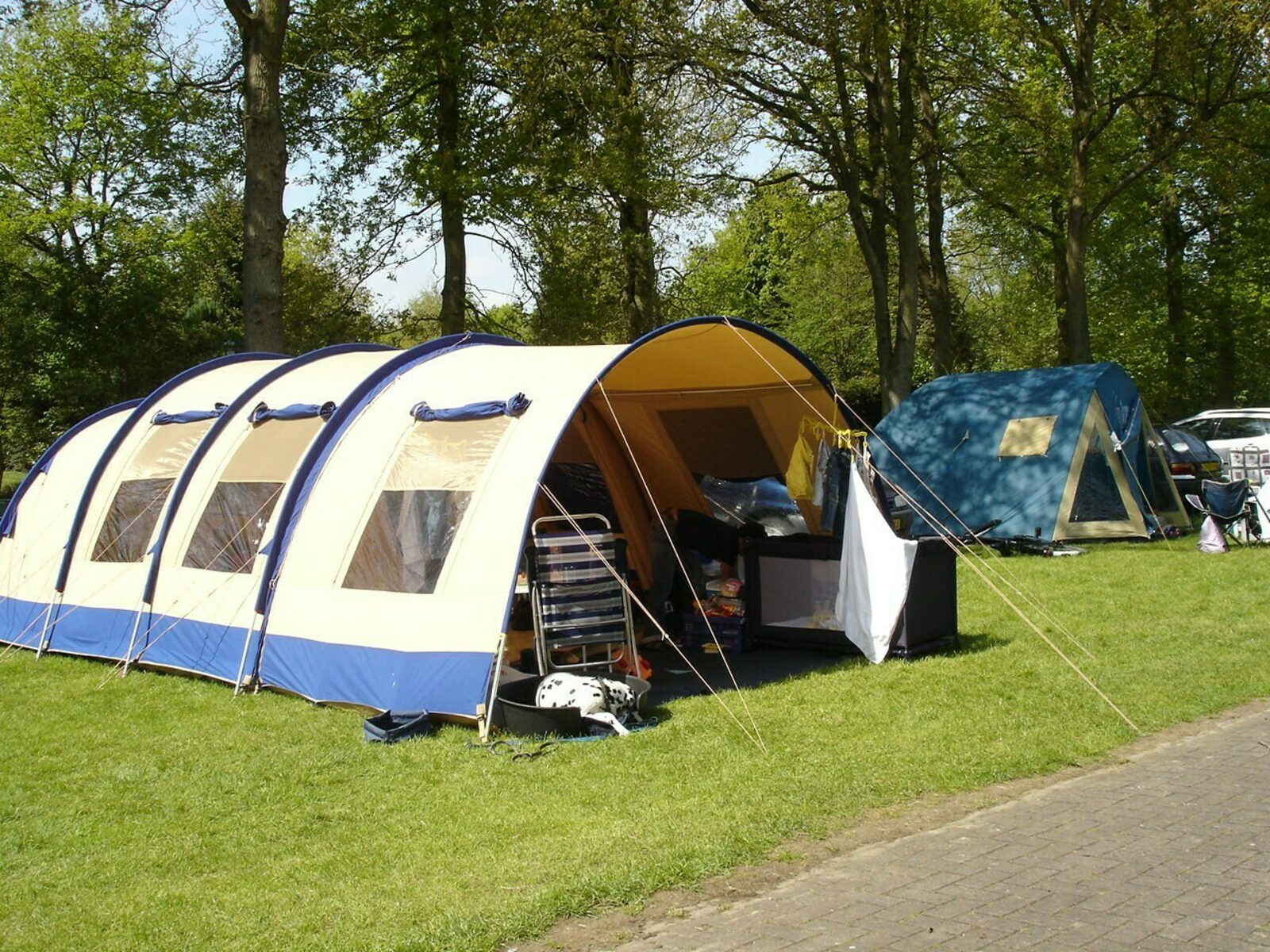 Pitch with private bathroom Boersveld