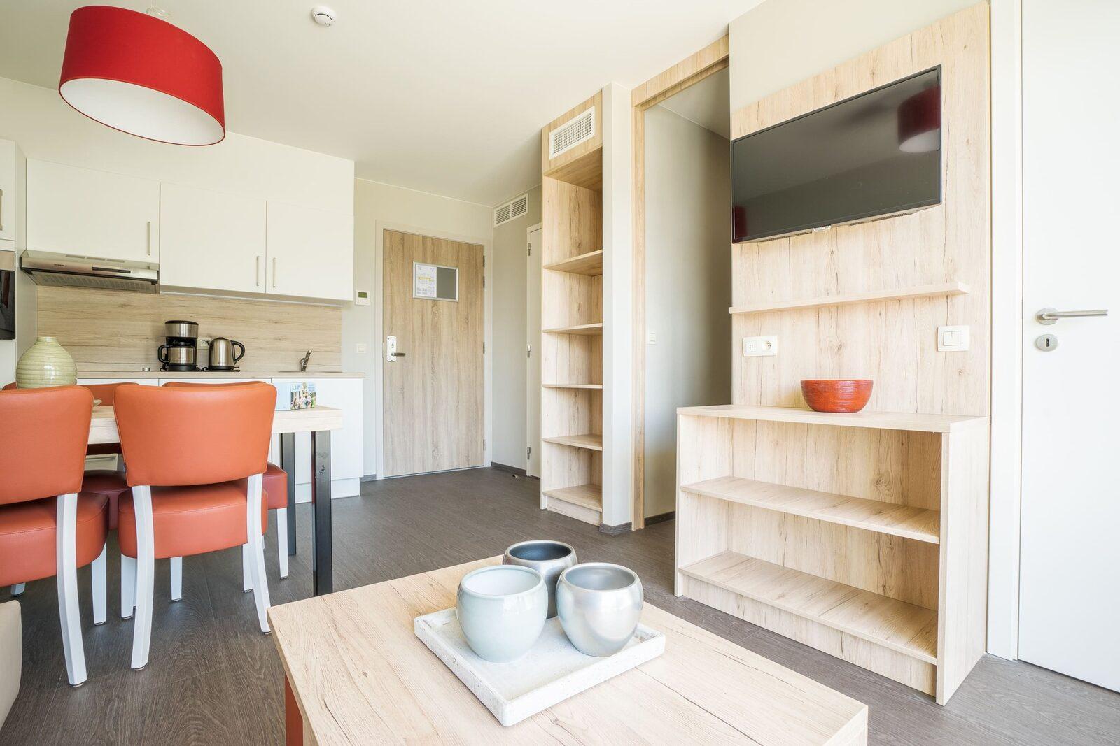 Comfort Suite - 6p | 2 Slaapkamers - Zetelbed