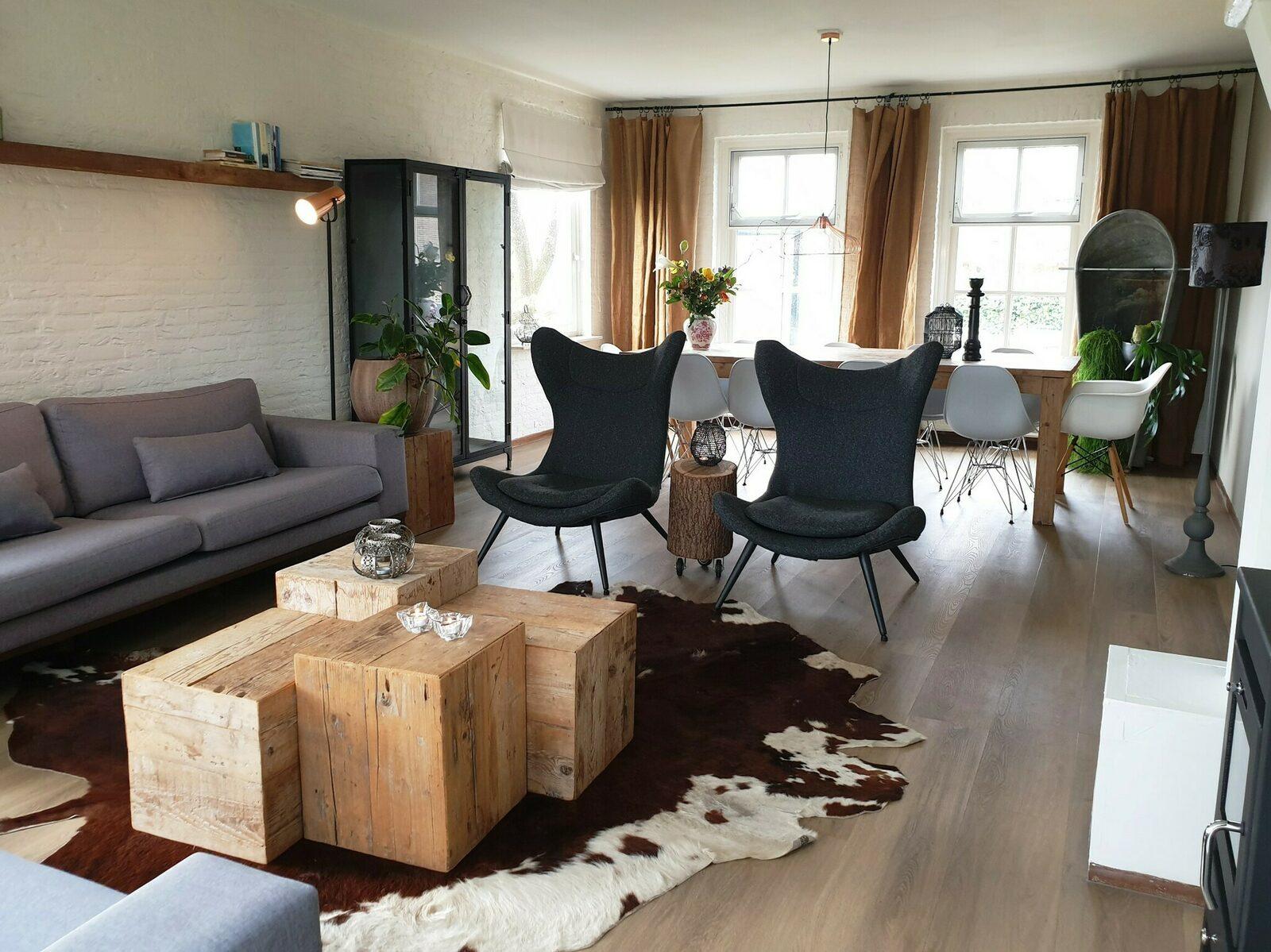 Buitenverblijf de Rust - vakantiehuis voor familieweekend in Brabant