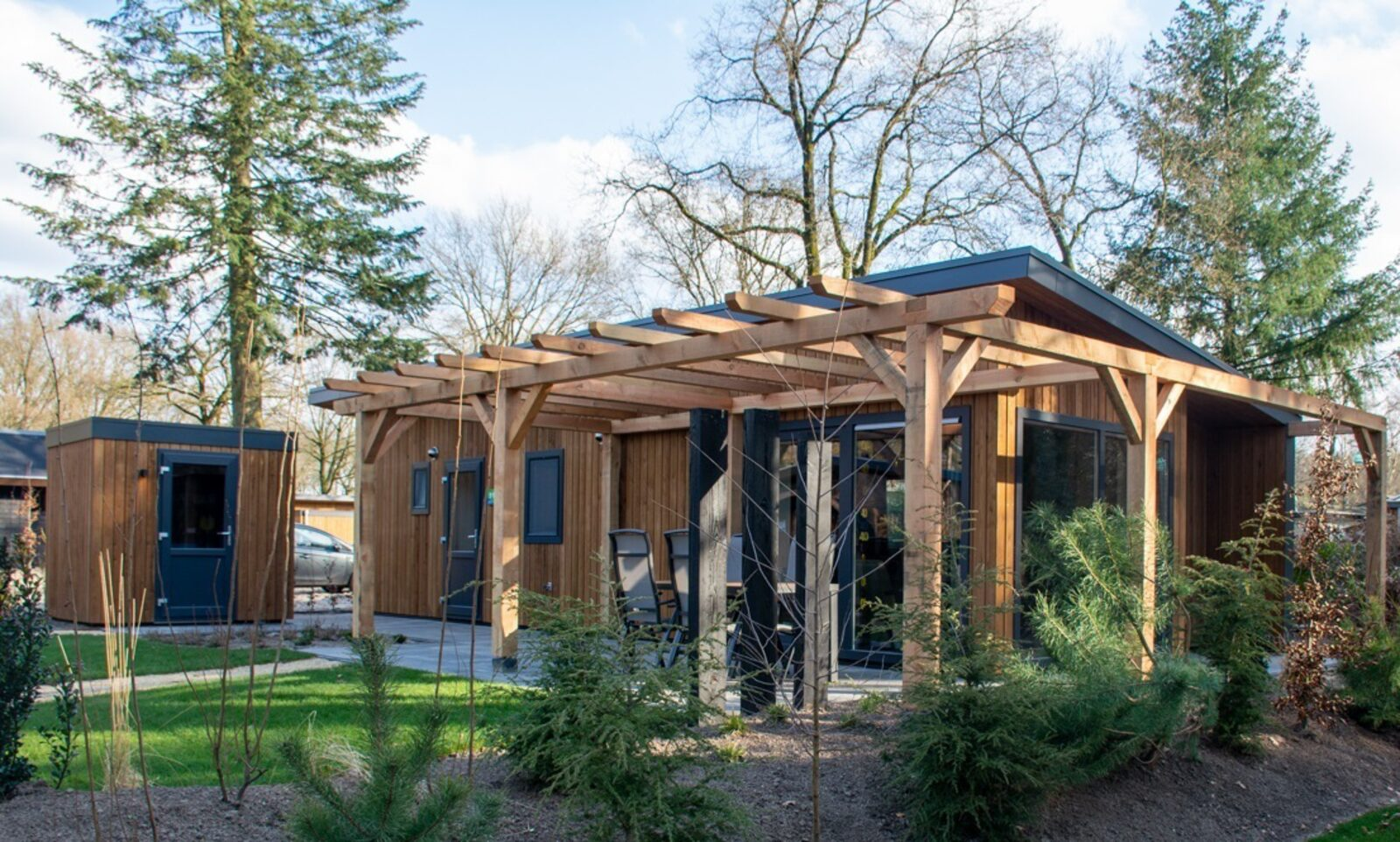 Heath Lodge Eco 4 Personen (Wellness)