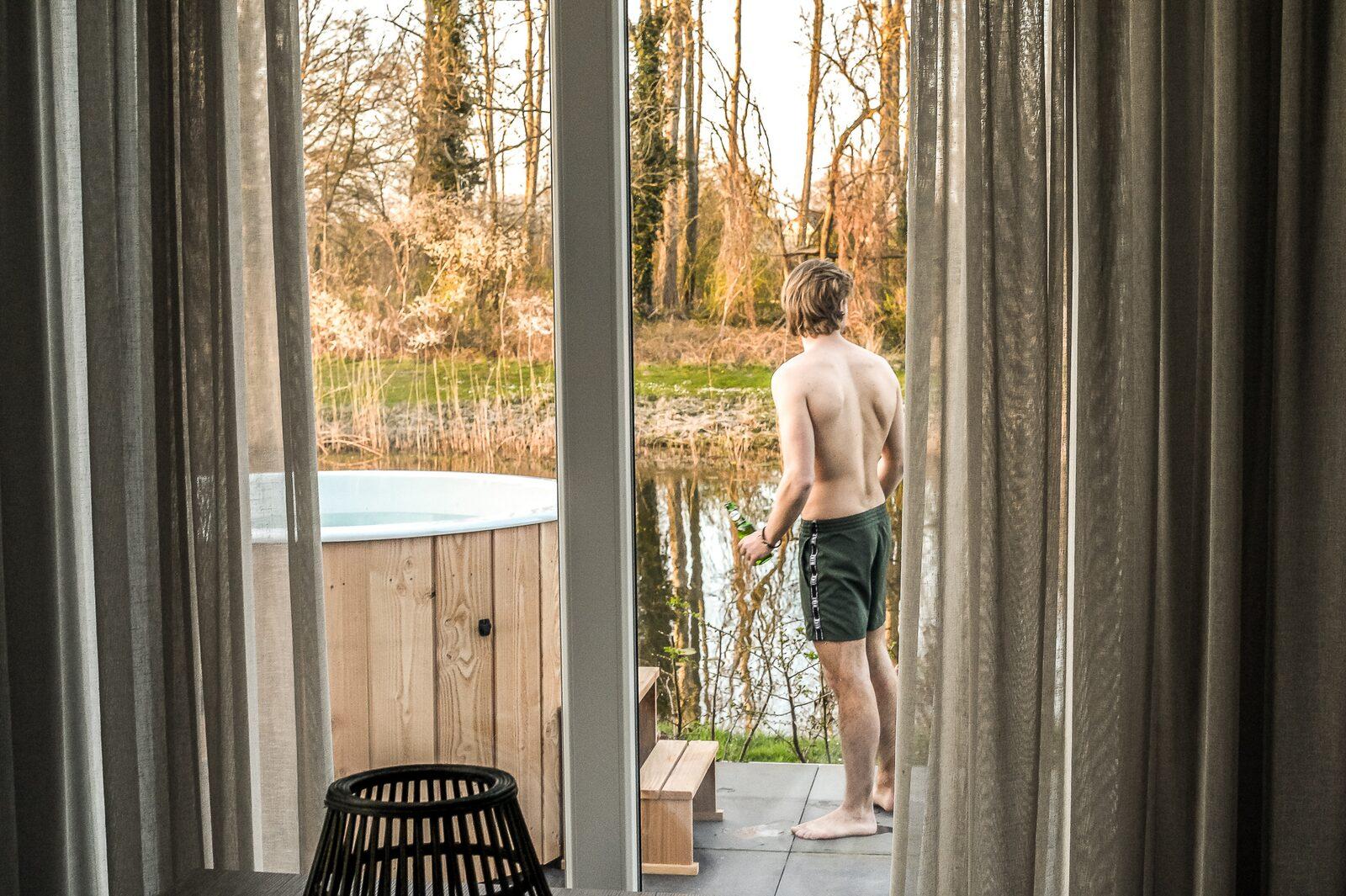 River Cabin met hottub | 4 pers.