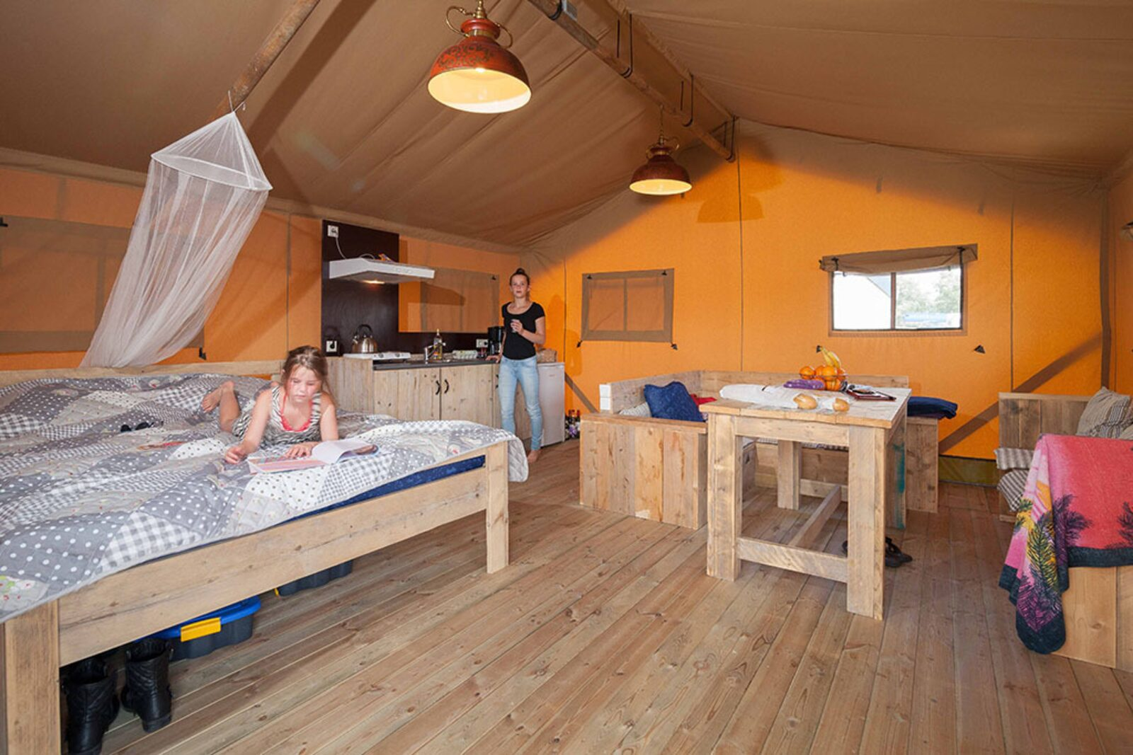 Aqua Glamping Lodge 6 people