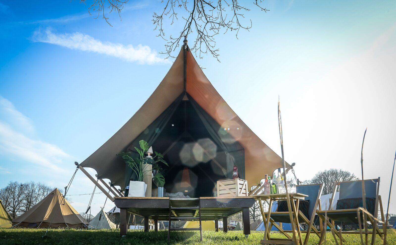 Pop-up glamping: Awaji tent | 2-4 pers.