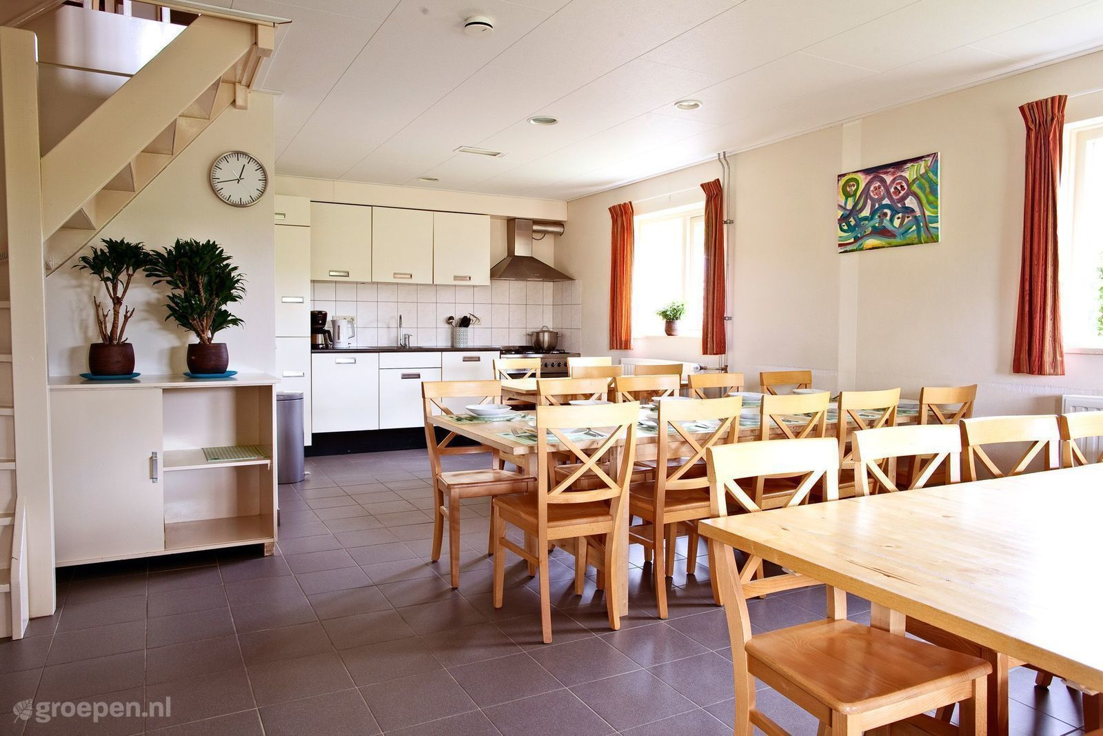 Group accommodation Sint Hubert