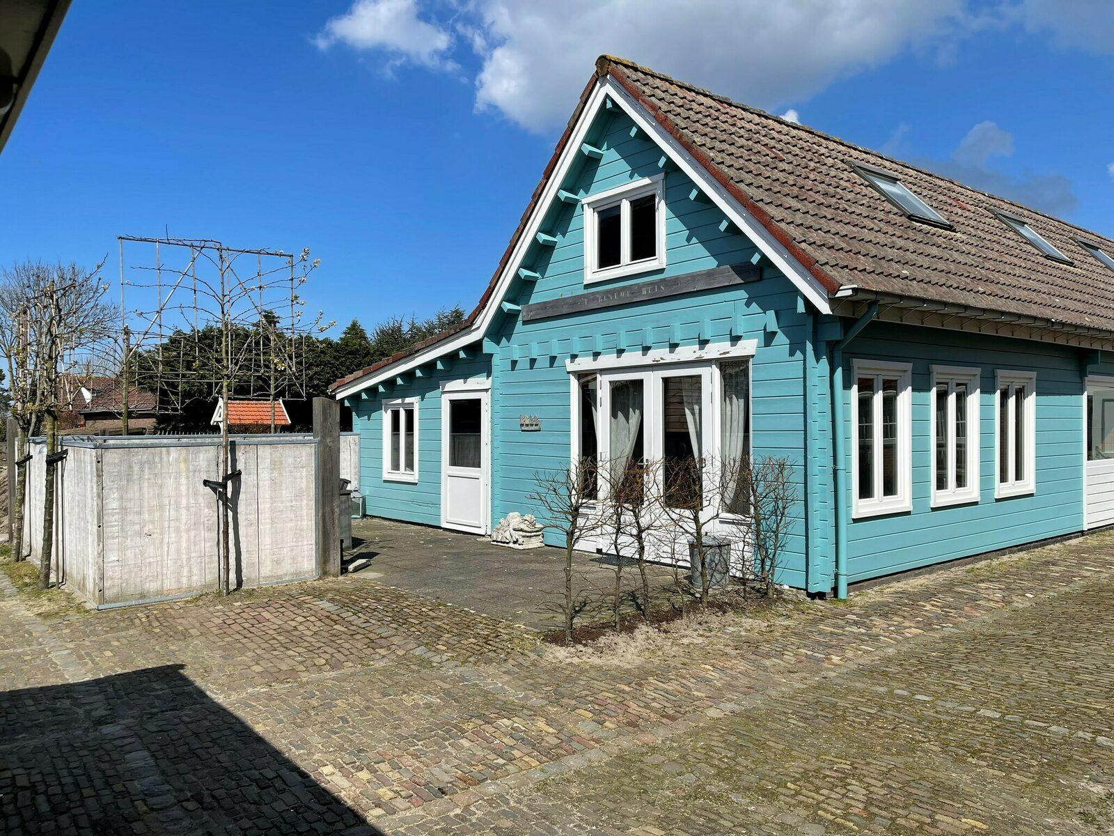 Vakantiehuis - Wielemakersbaan 6 | Dishoek 'Het blauwe chalet'