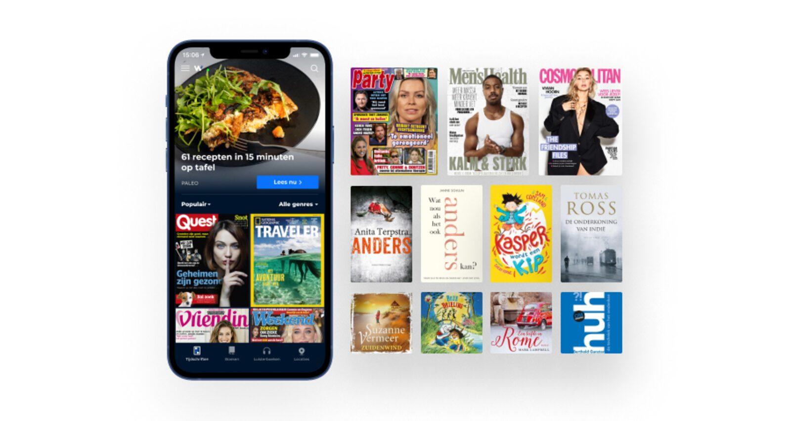 Wait | Magazines, books, and audio books