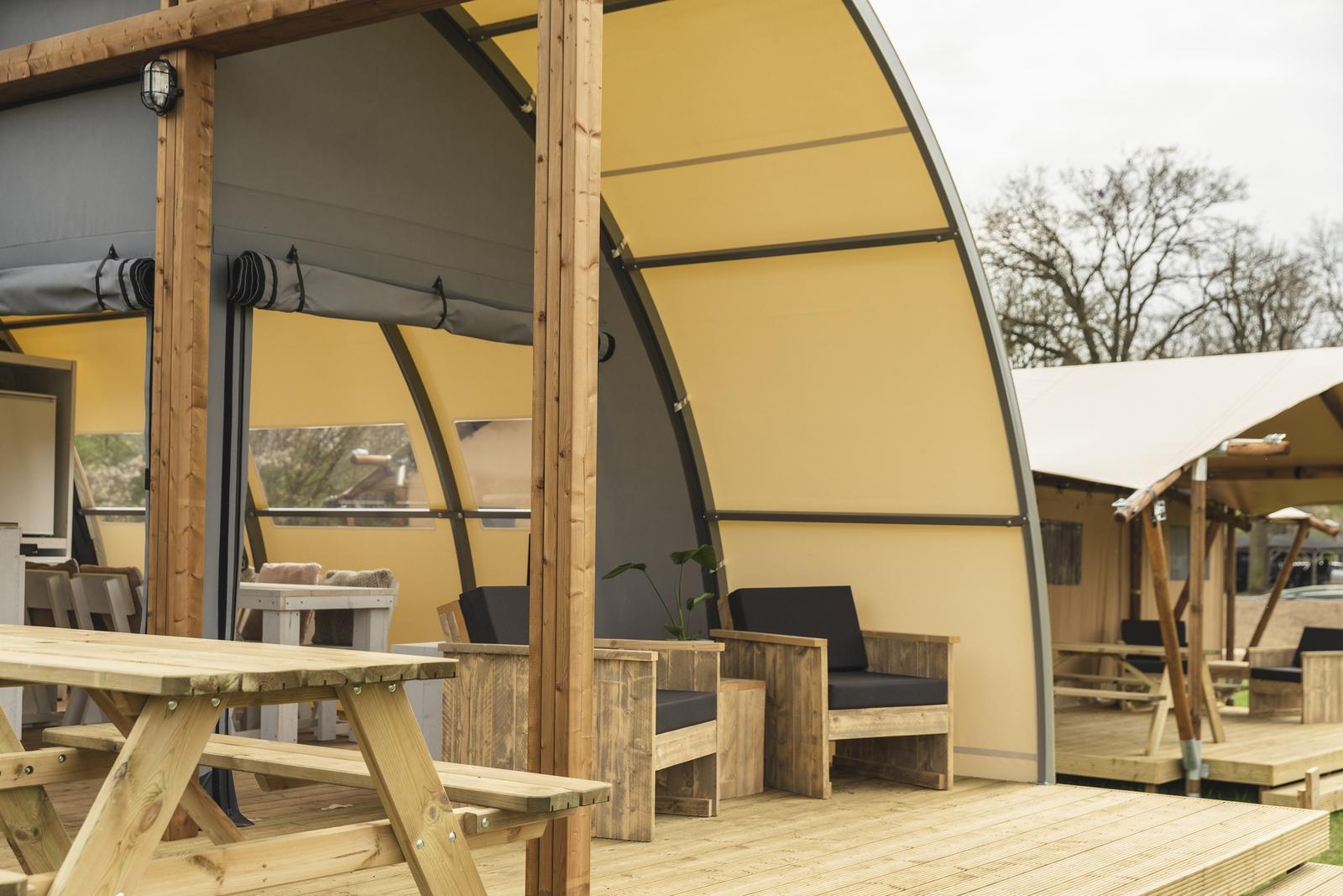 Panorama Lodge met privé sanitair ~ en weids uitzicht