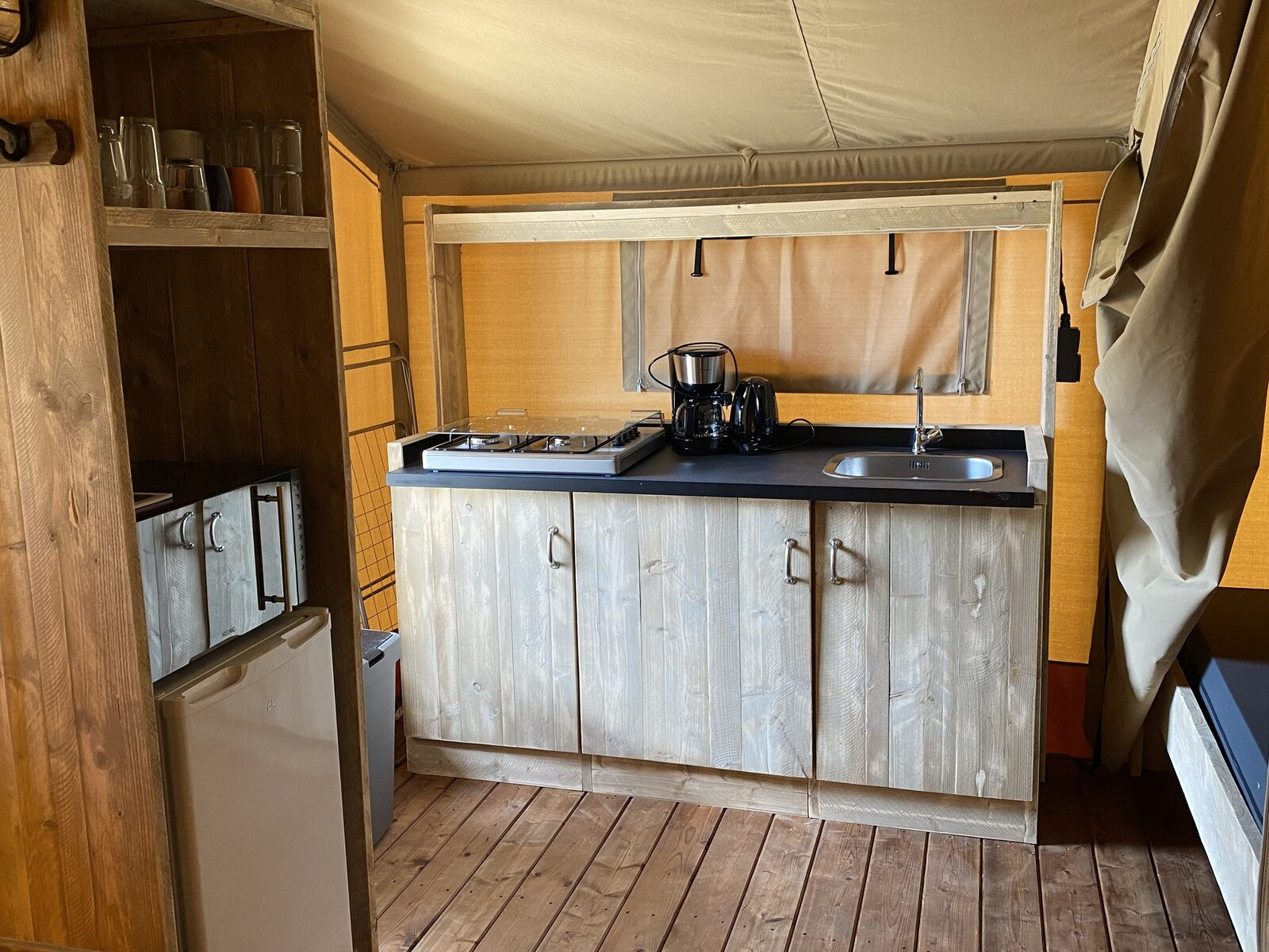 Mietzelt Glamping Deluxe 5p. type 2