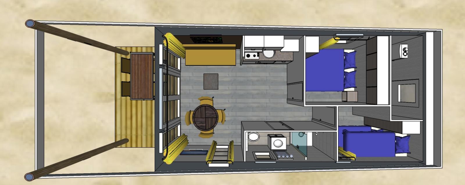 Comfort Lodge | 4 personen (32 M²)