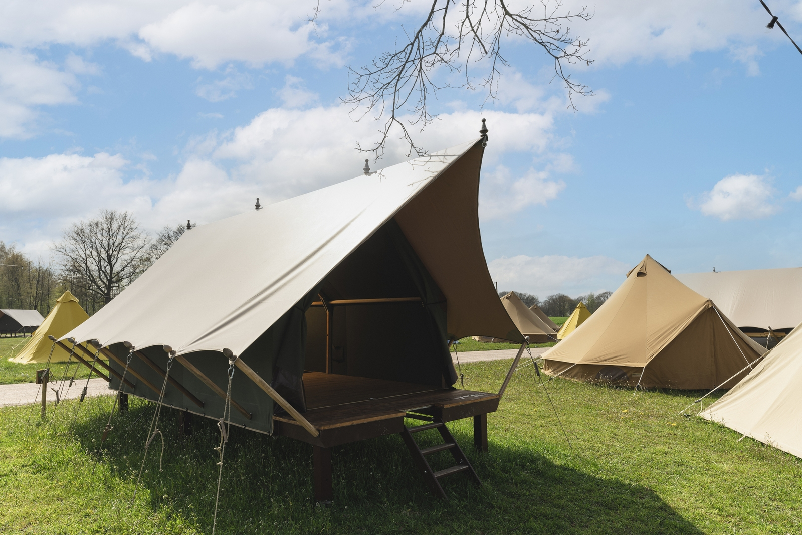 Pop-up glamping: Buurman's Awajitentje | 2-4 pers.