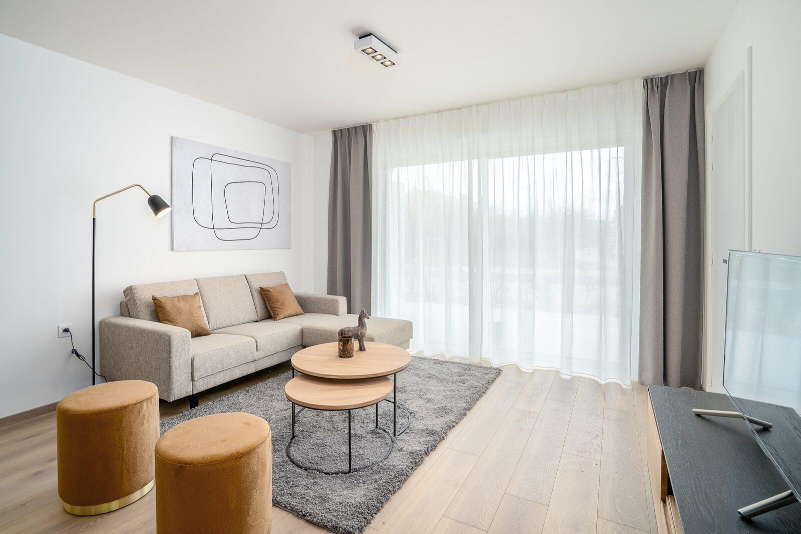 Appartement pour 6 personnes avec 3 chambres et balcon