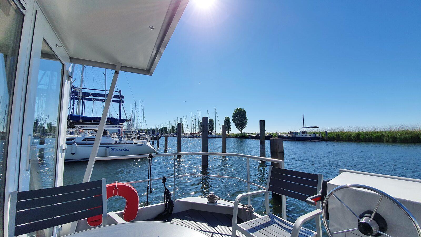 Havenlodge pour six personnes Deko Marina Lelystad