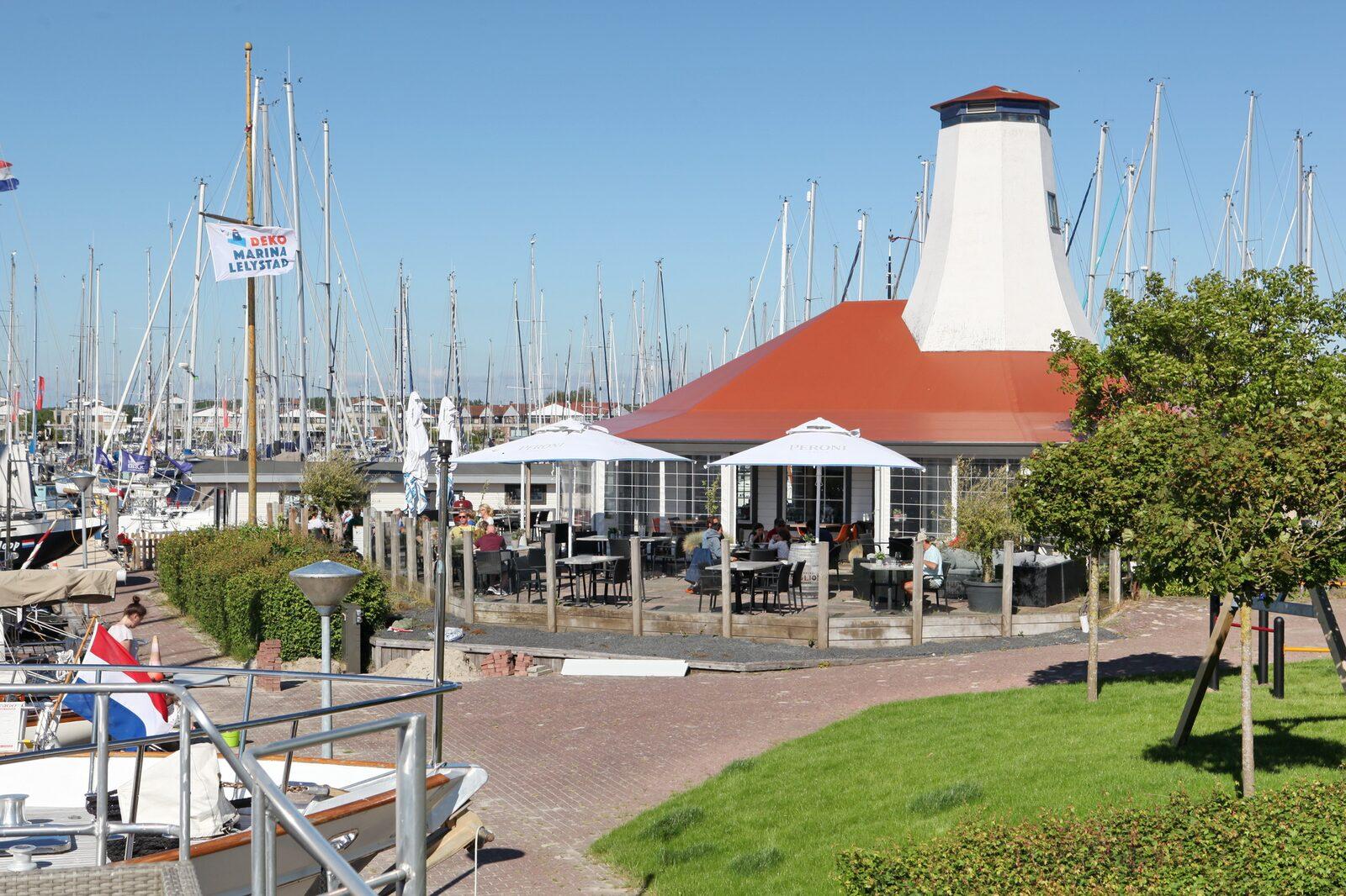 Havenlodge 6 Personen Deko-Jachthafen Lelystad
